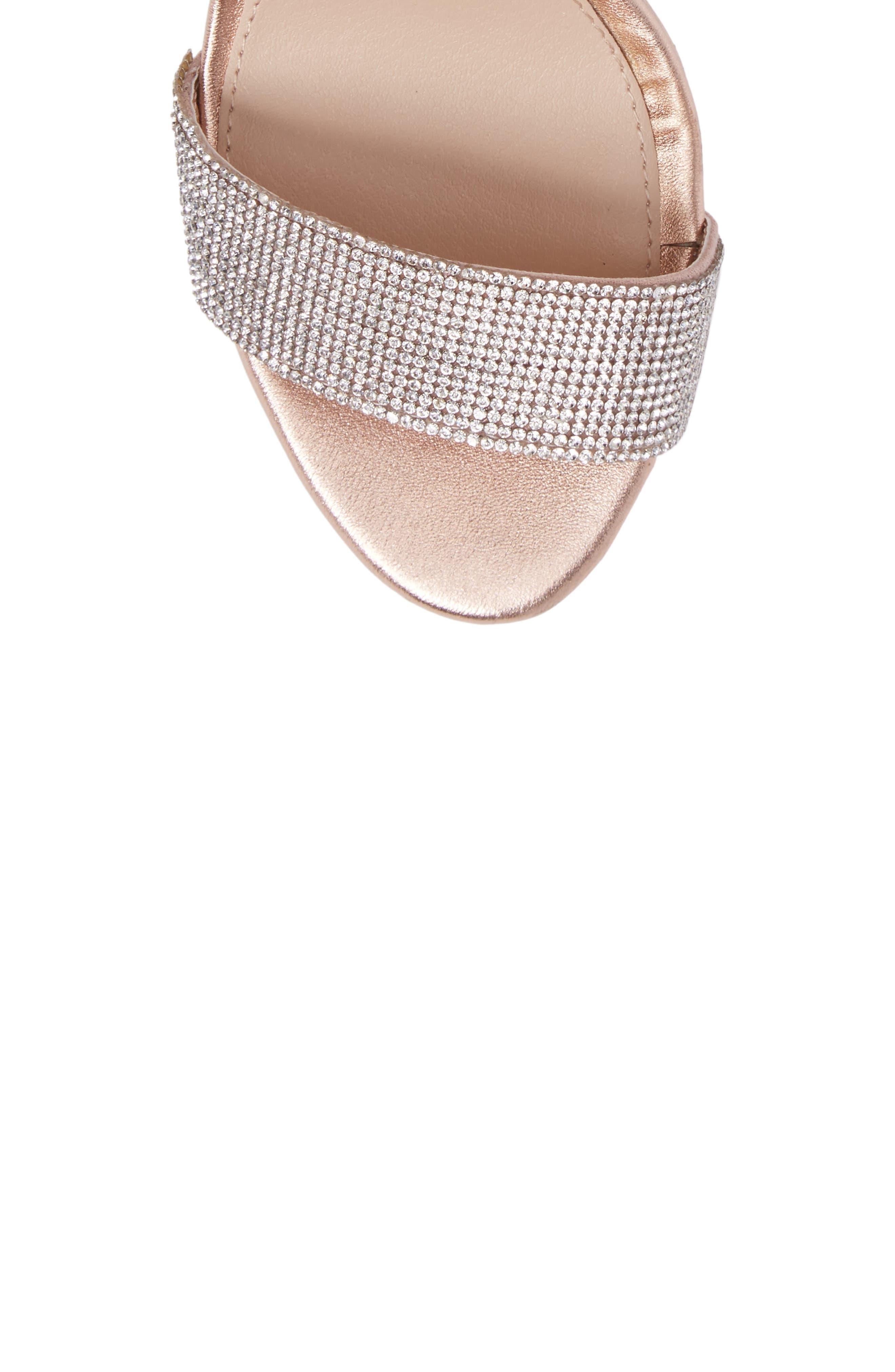 Circuit Sandal,                             Alternate thumbnail 5, color,                             Rose Gold Leather