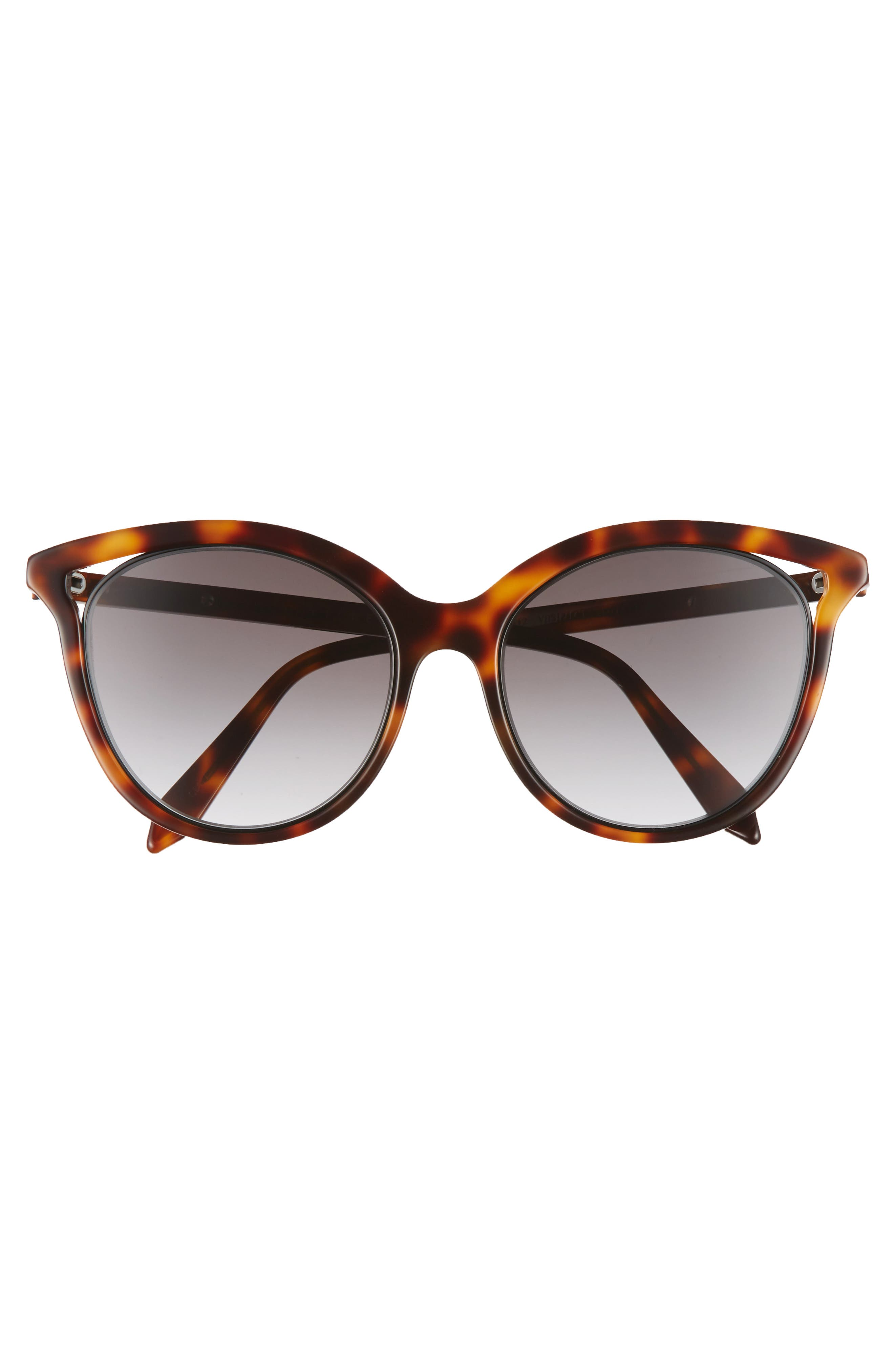 Alternate Image 3  - Victoria Beckham Cutaway Kitten 54mm Cat Eye Sunglasses