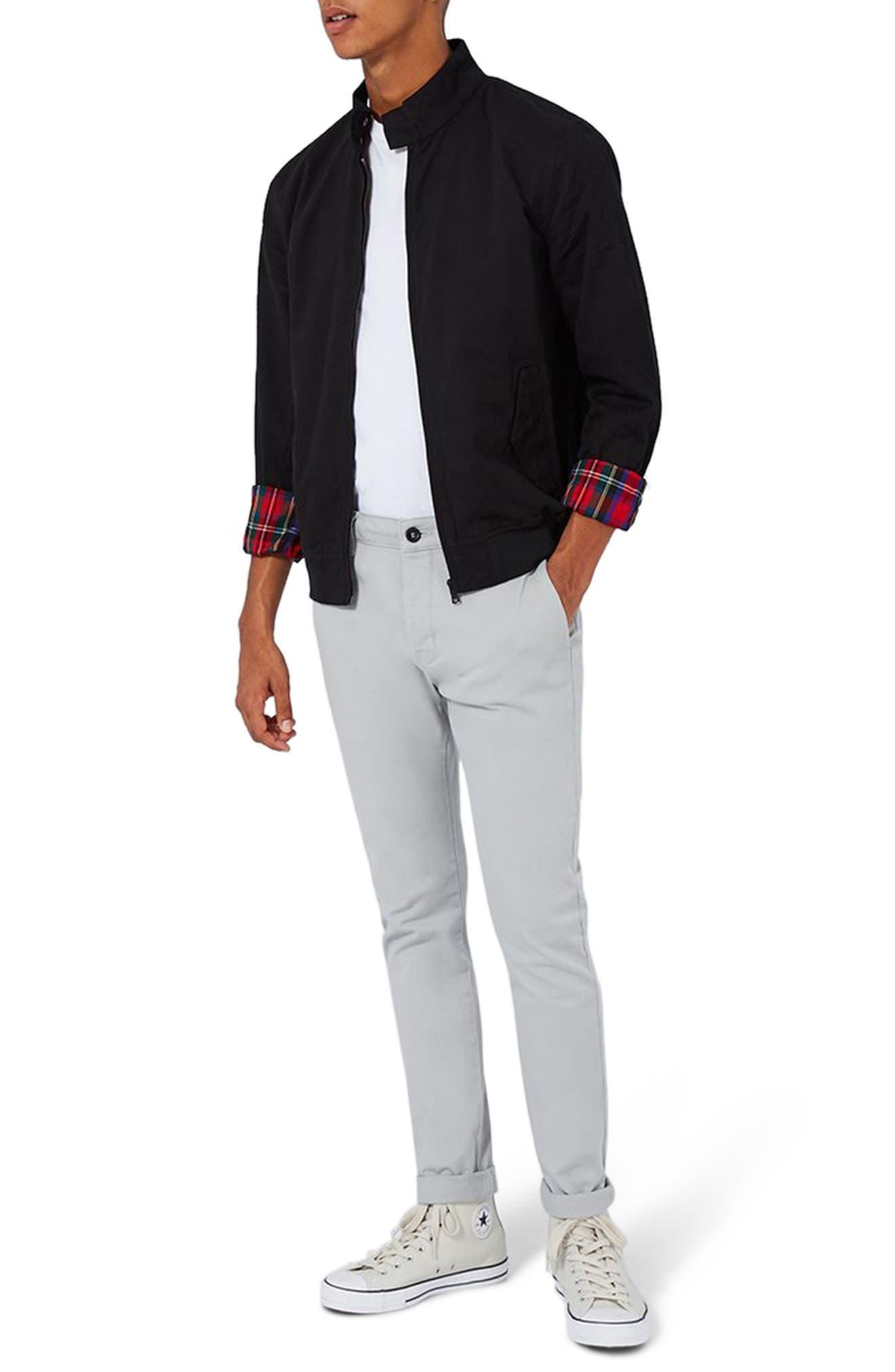 Main Image - Topman Classic Harrington Jacket