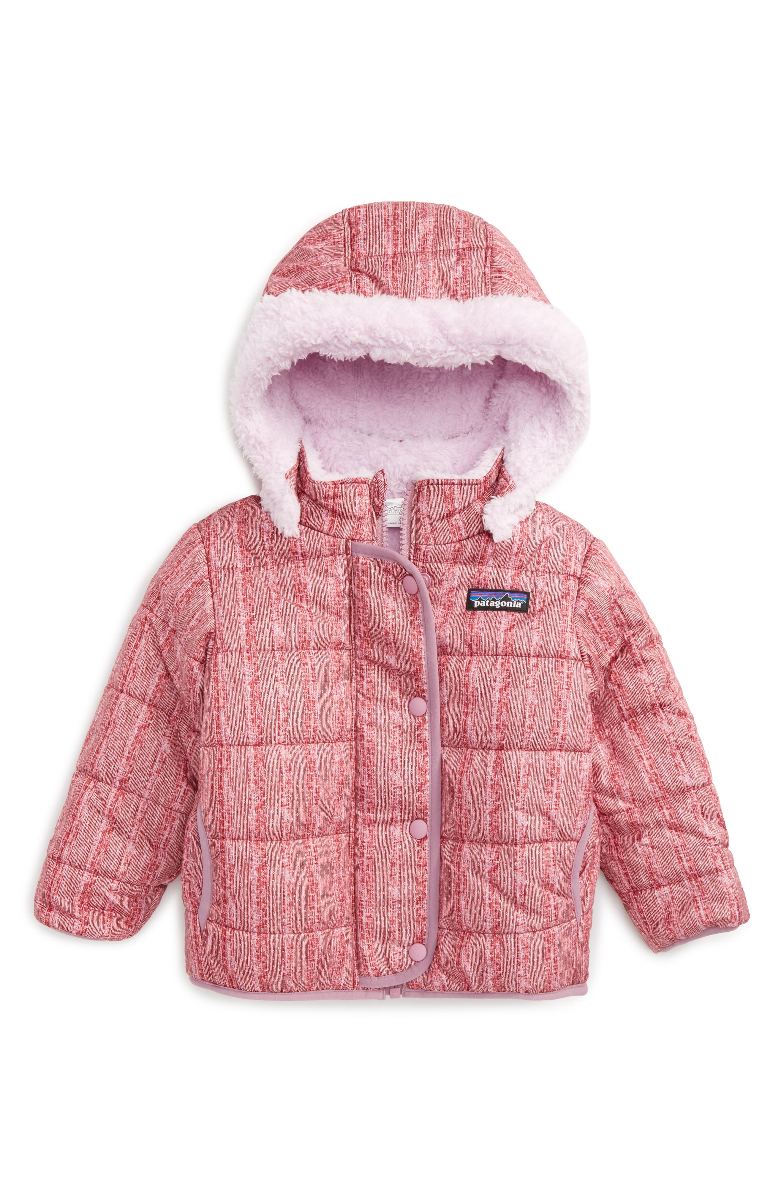 Main Image - Patagonia Dream Song Water Repellent Reversible Jacket (Toddler Girls)