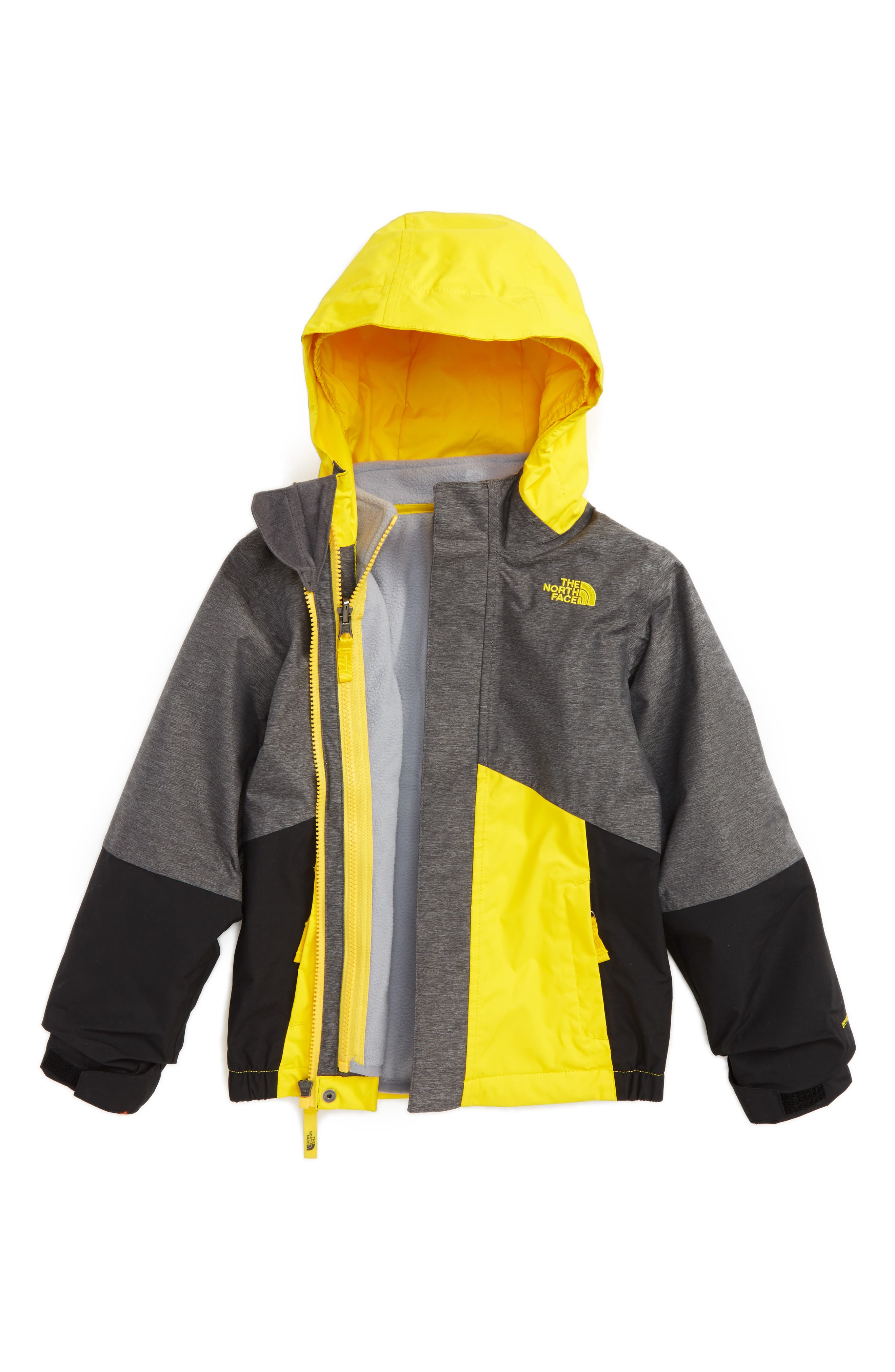 Main Image - The North Face Boundary TriClimate® 3-in-1 Jacket (Toddler Boys & Little Boys)