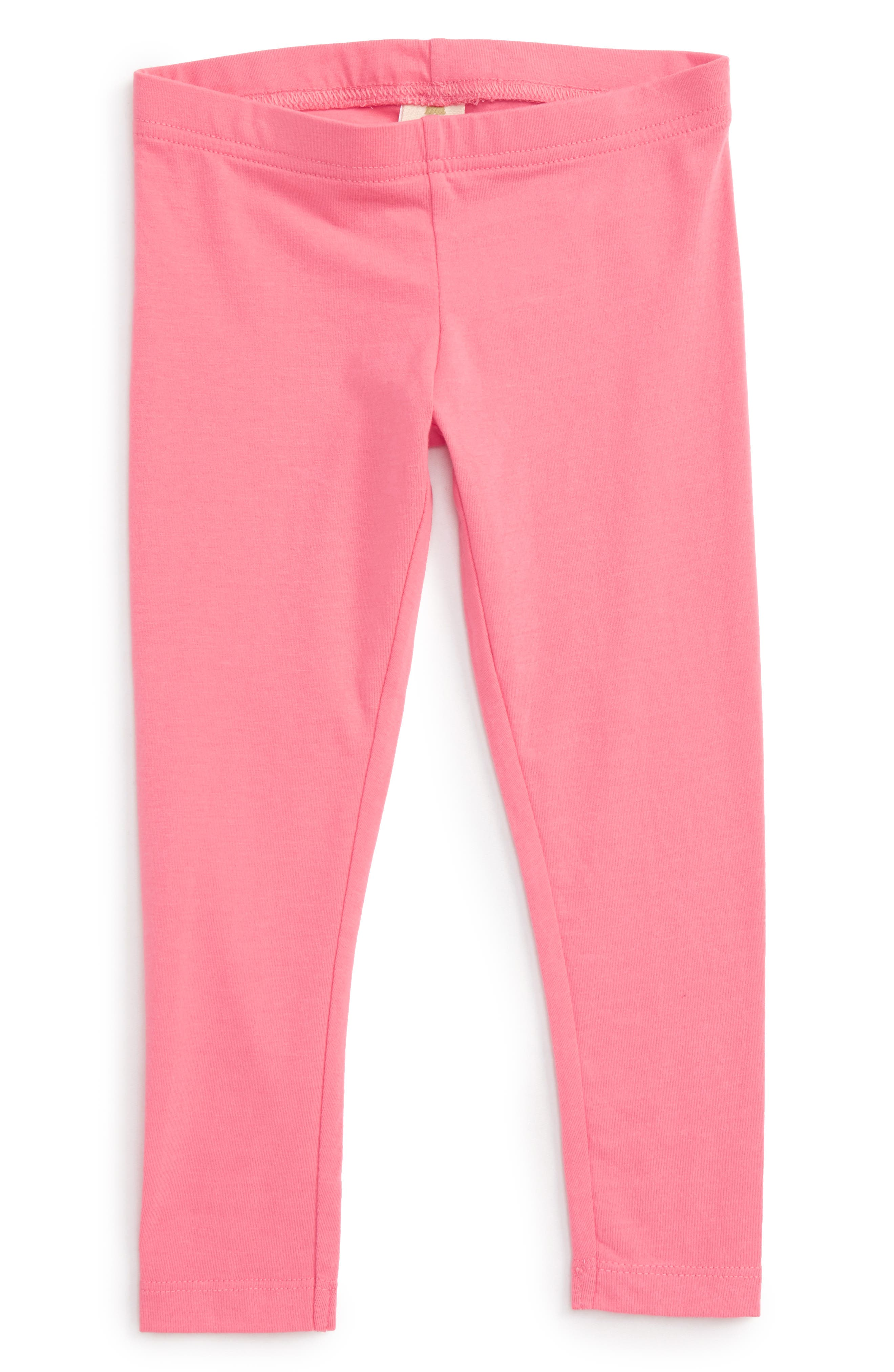 'Core' Leggings,                         Main,                         color, Pink Lemonade