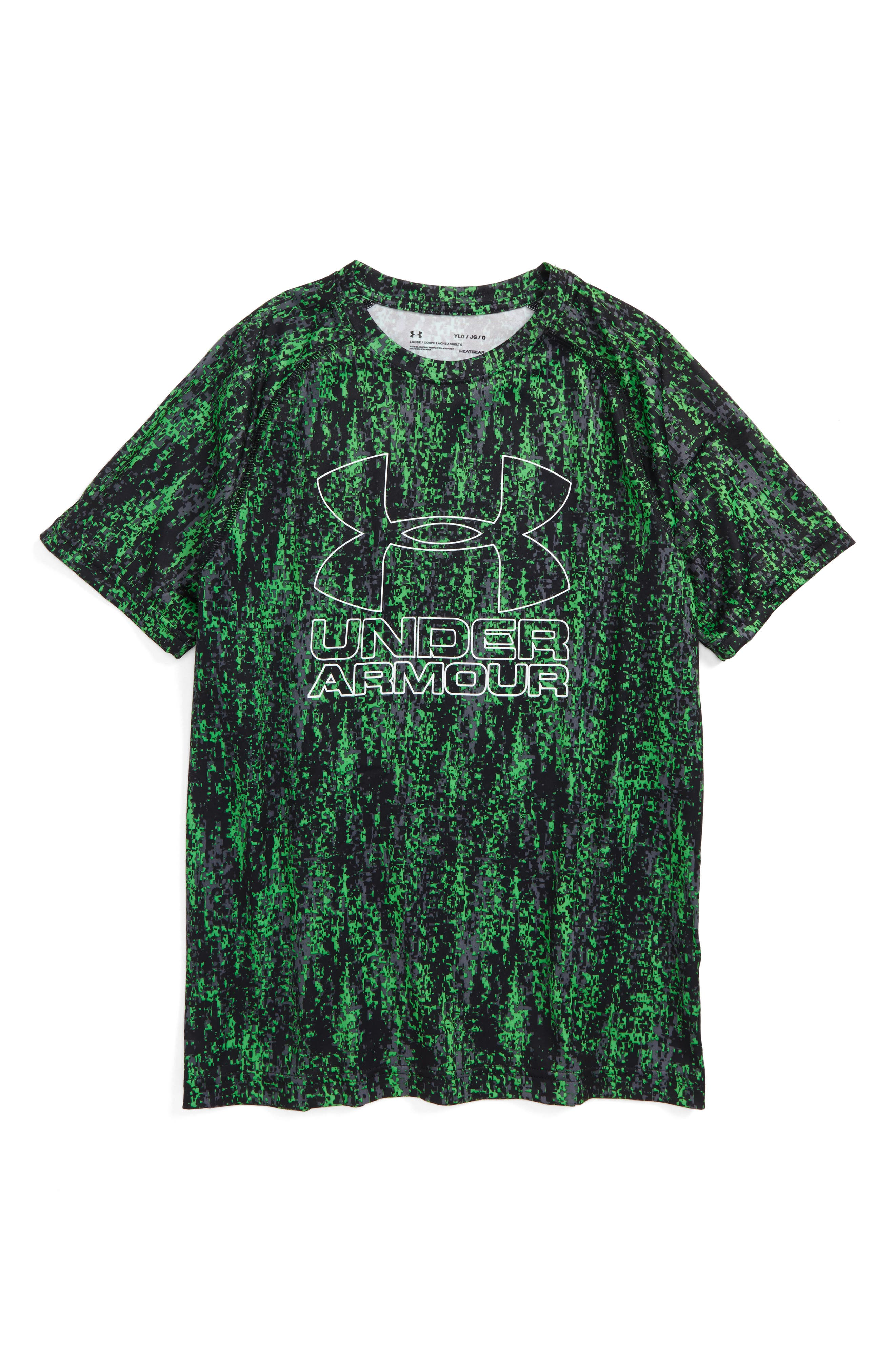 Under Armour Big Logo Print T-Shirt (Little Boys & Big Boys)