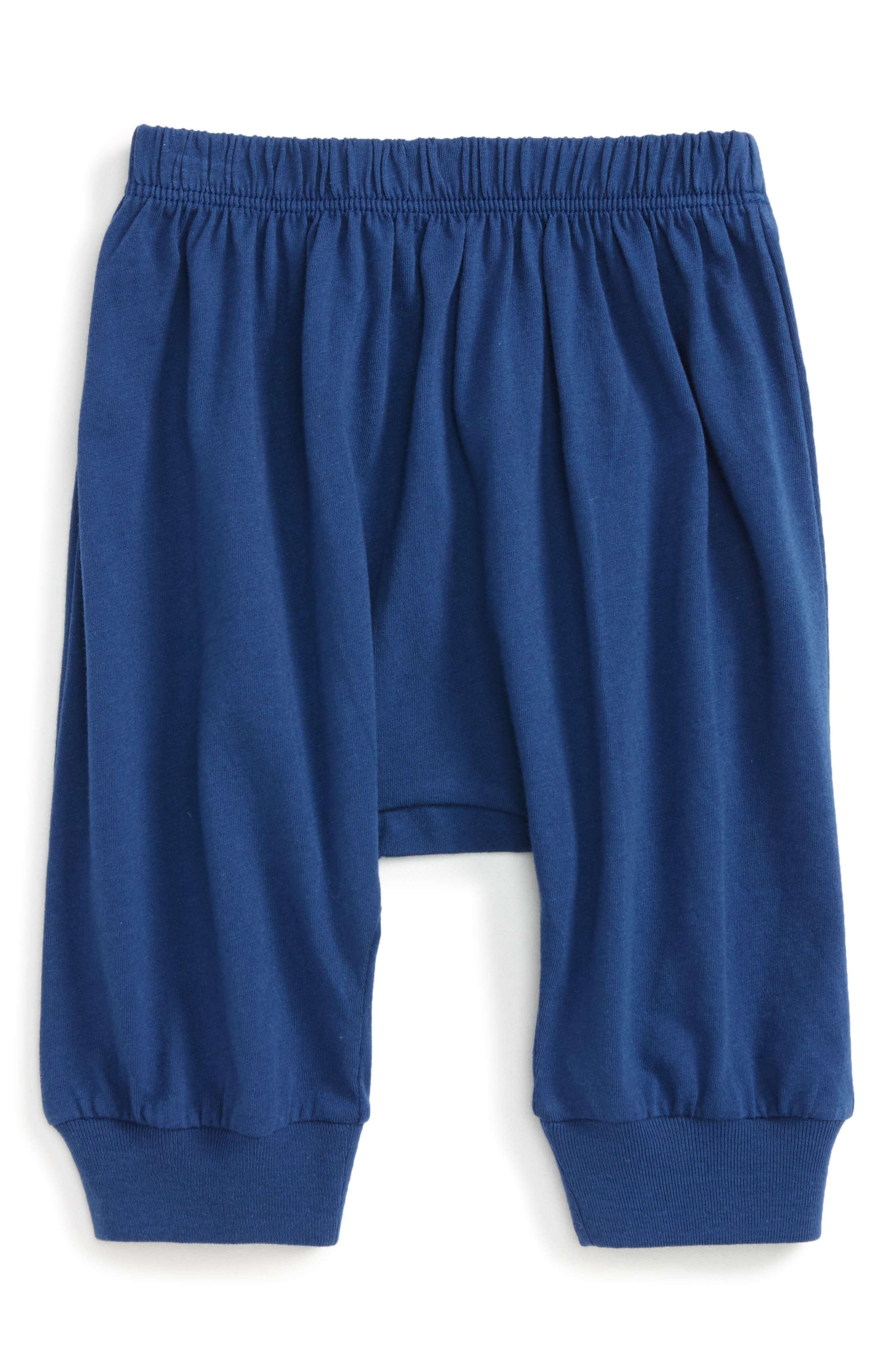Peek Little Peanut Happy Pants,                         Main,                         color, Navy