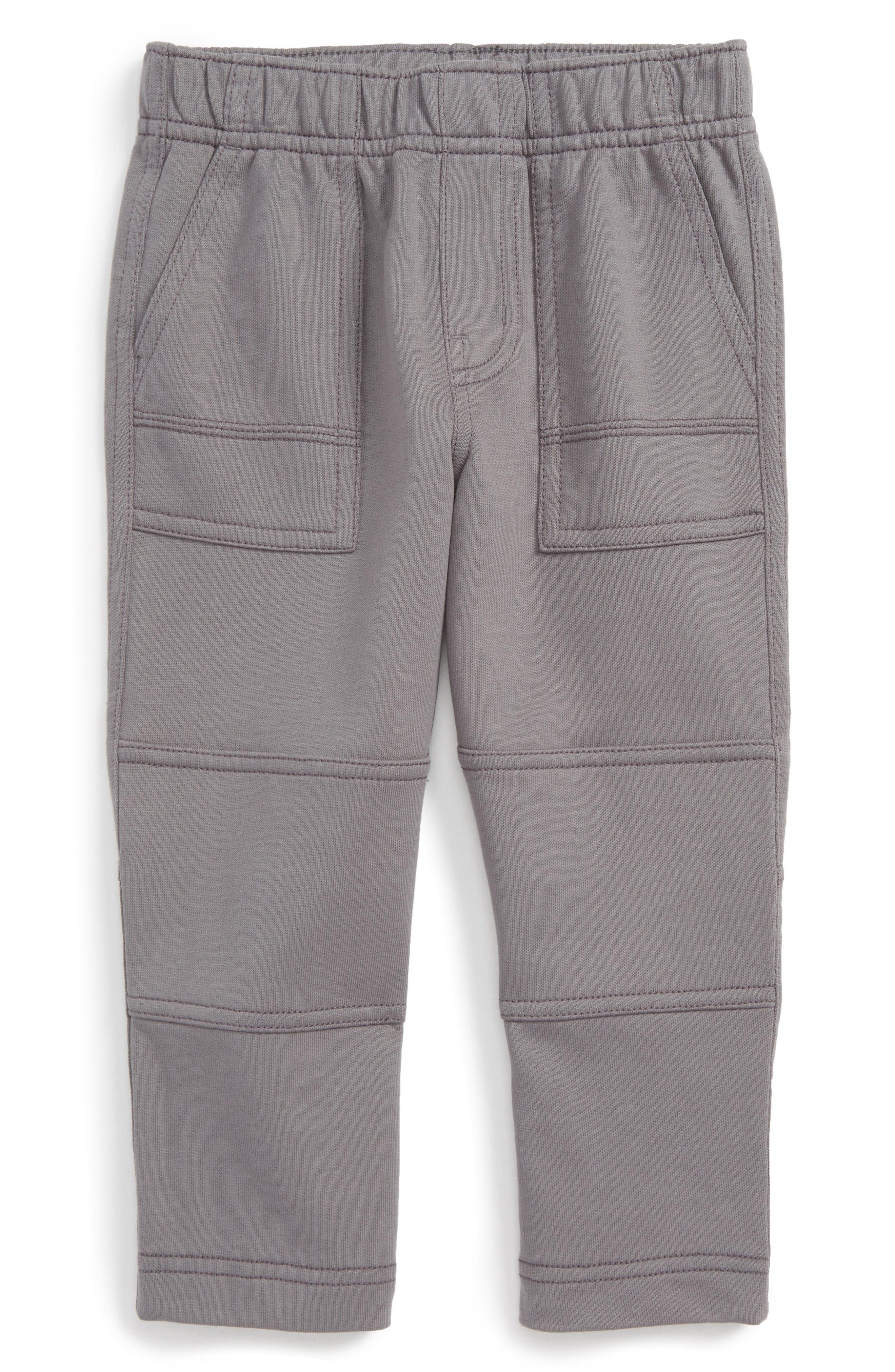 Knit Playwear Pants,                             Main thumbnail 1, color,                             Thunder