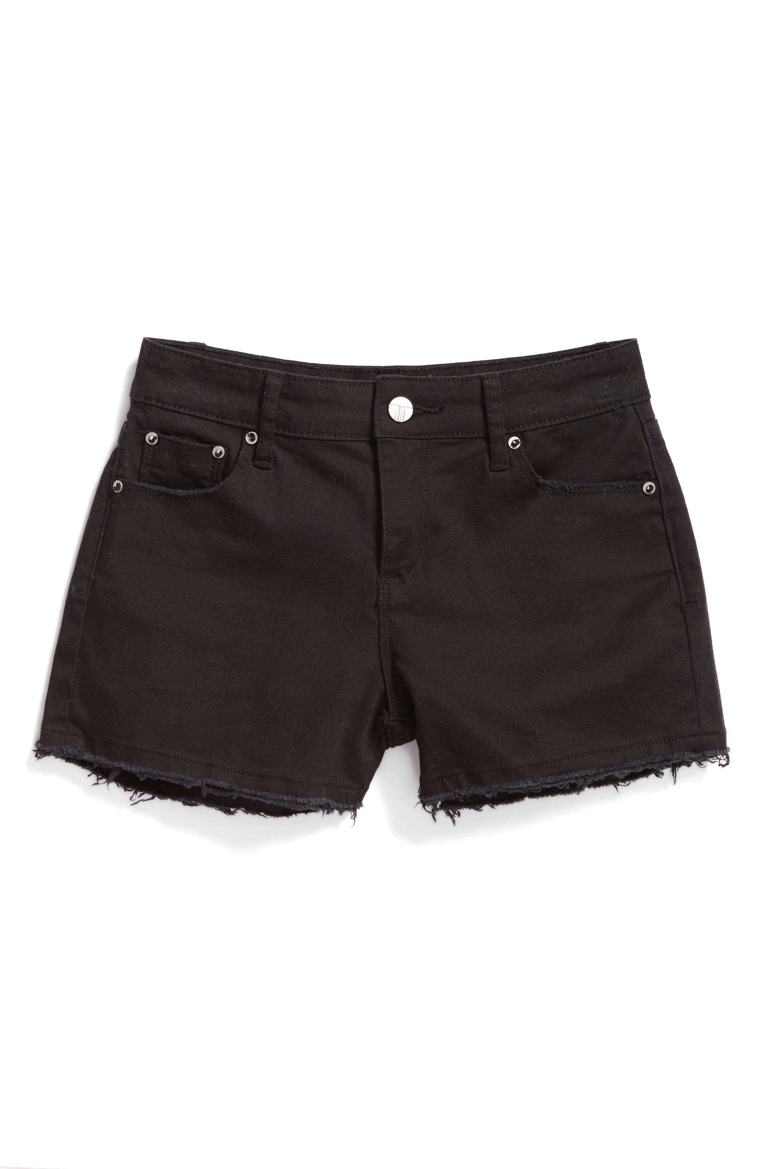 Tractr Frayed Shorts (Big Girls)