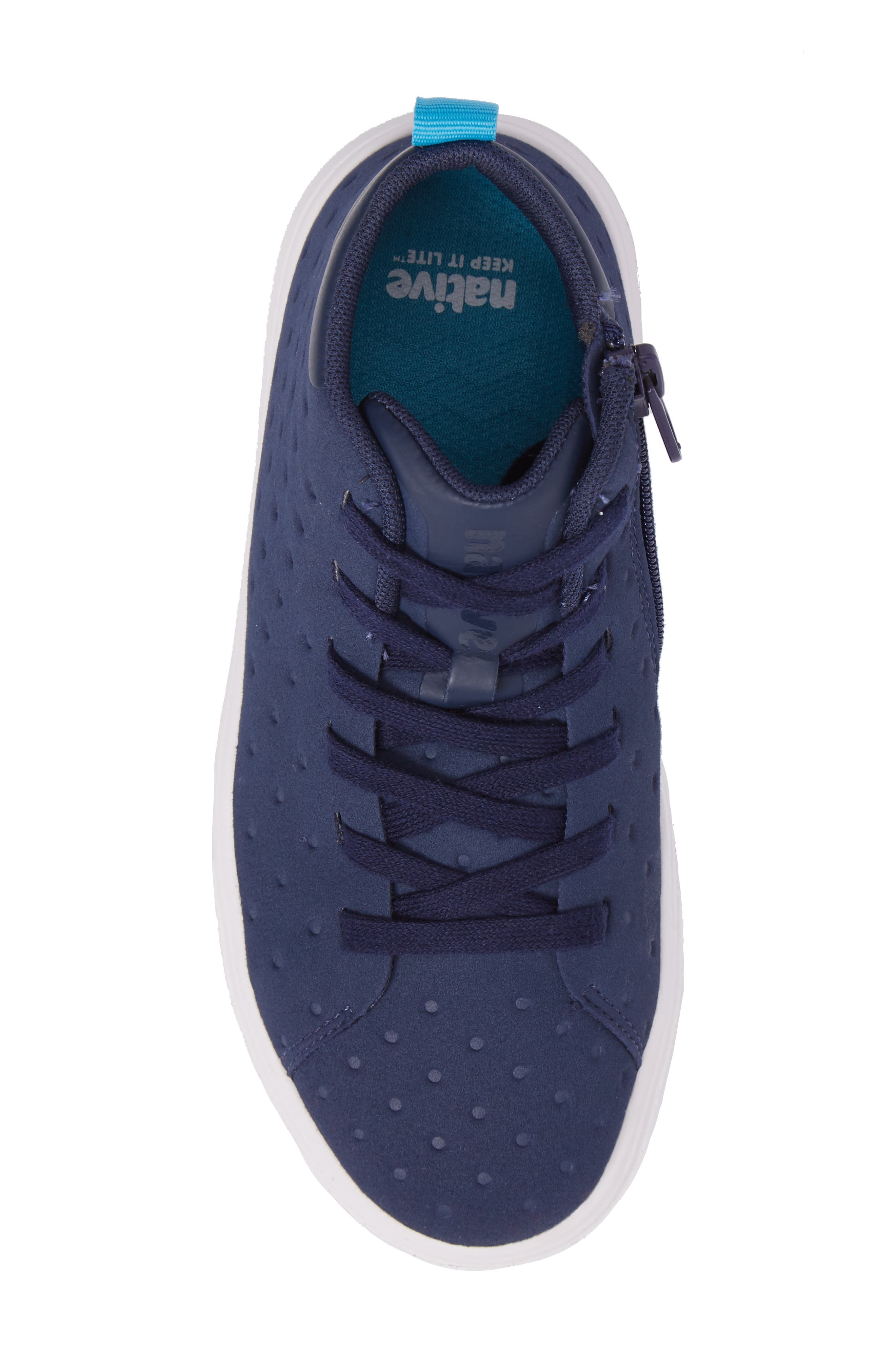 Native Monaco Sneaker,                             Alternate thumbnail 5, color,                             Regatta Blue/ Shell White