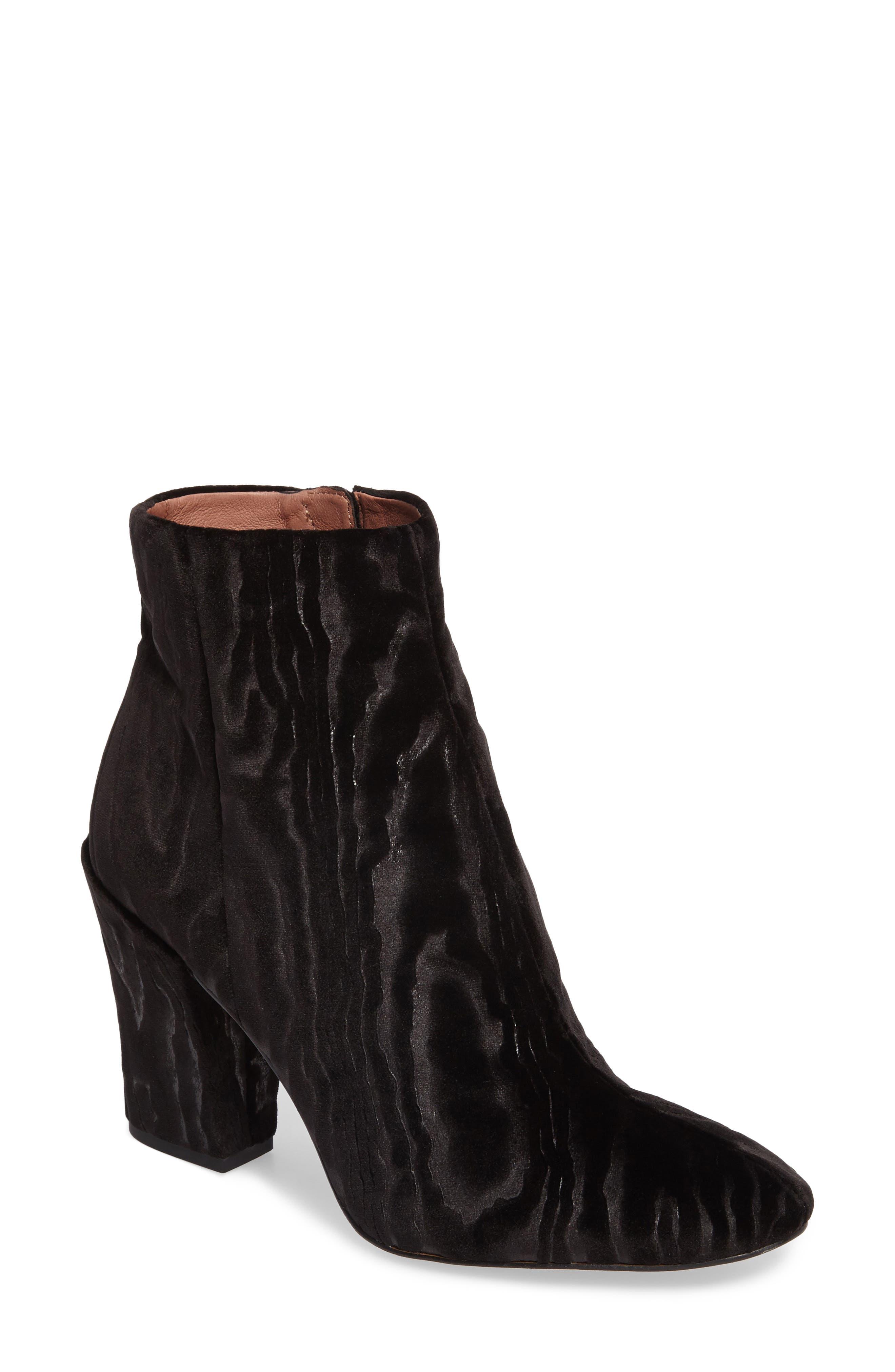 Verdana Bootie,                         Main,                         color, Black Velvet
