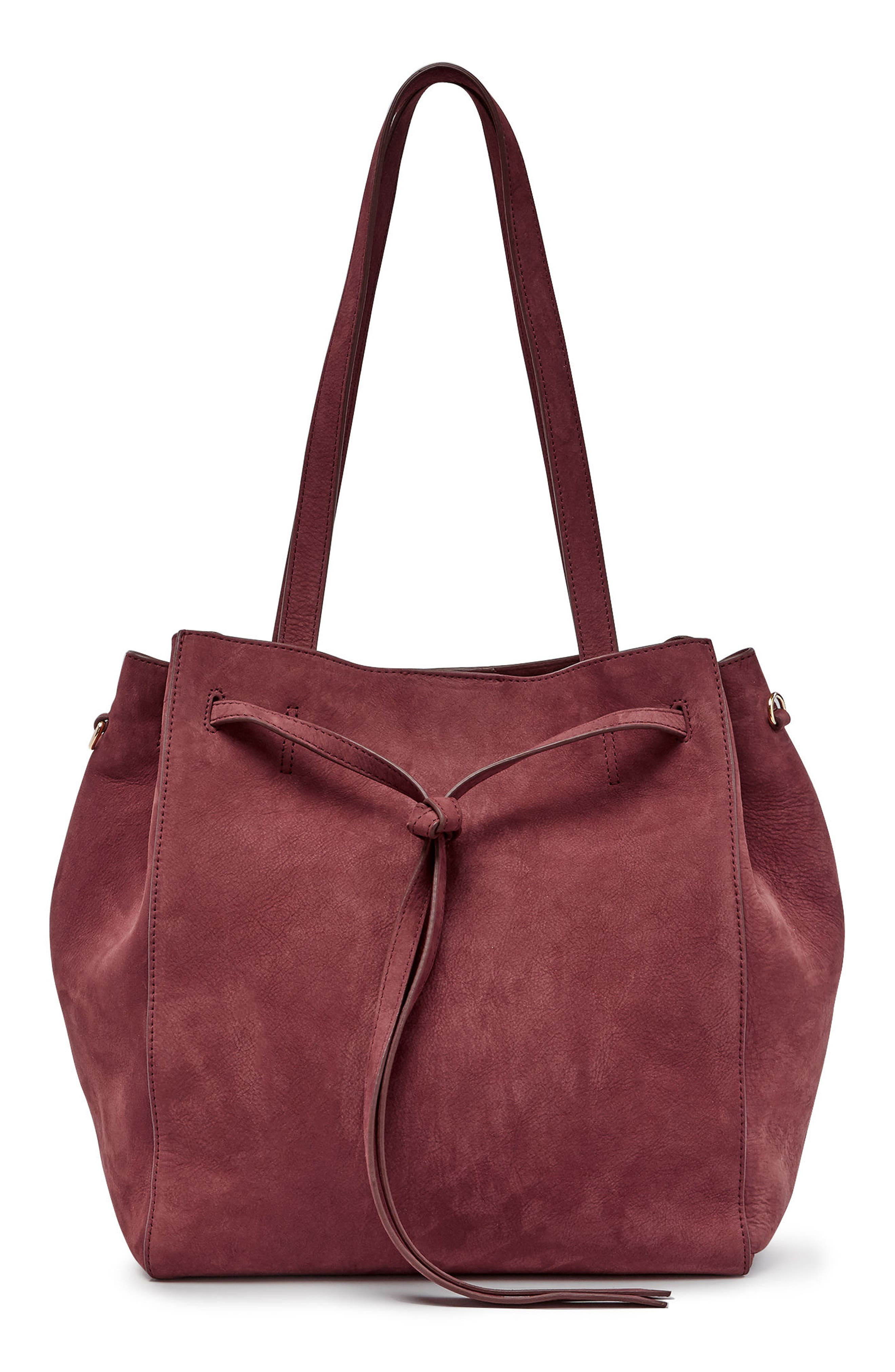 Pop & Suki Nubuck Carryall Tote (Nordstrom Exclusive)