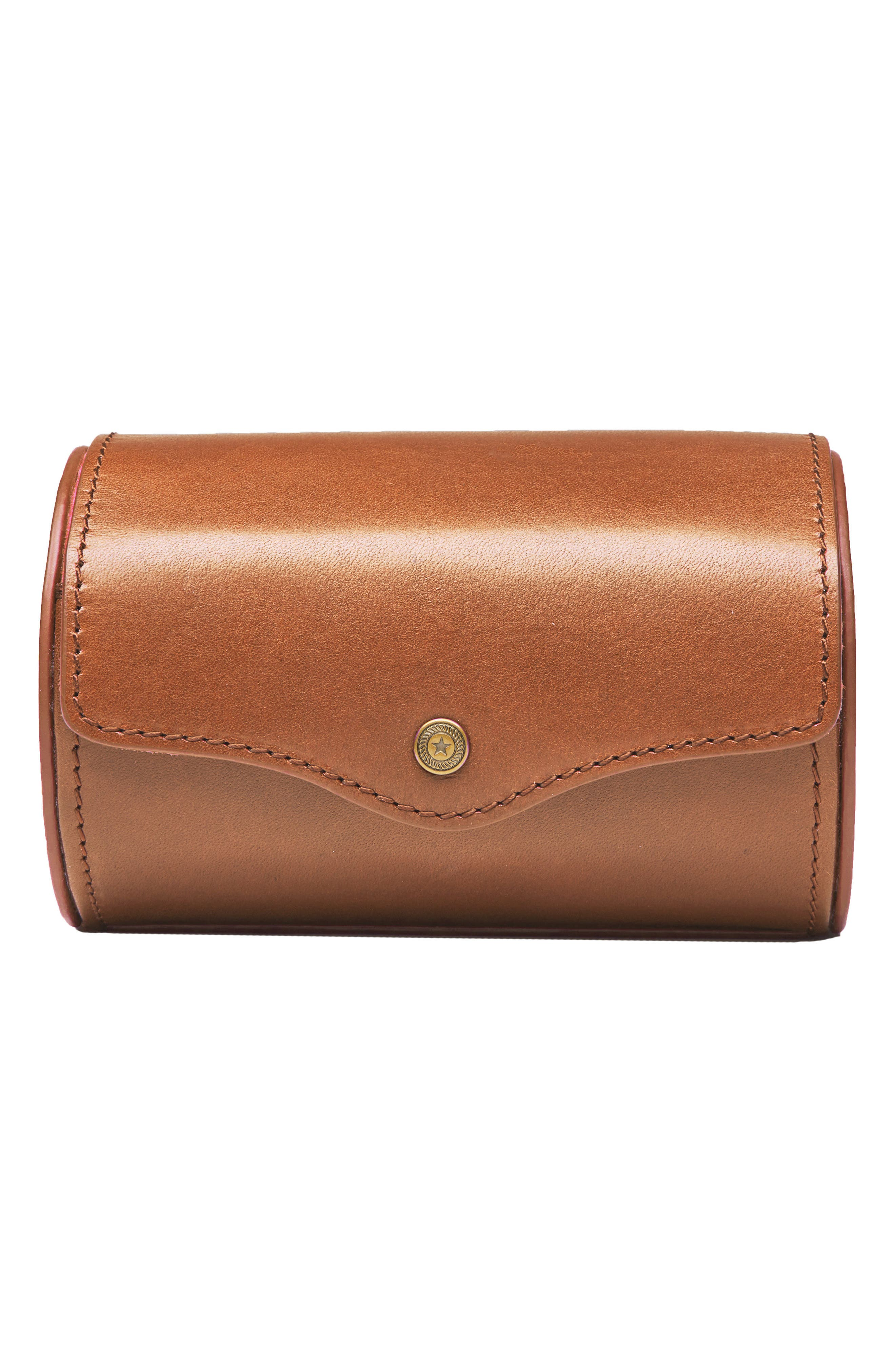 Watch Roll Case,                         Main,                         color, Tan