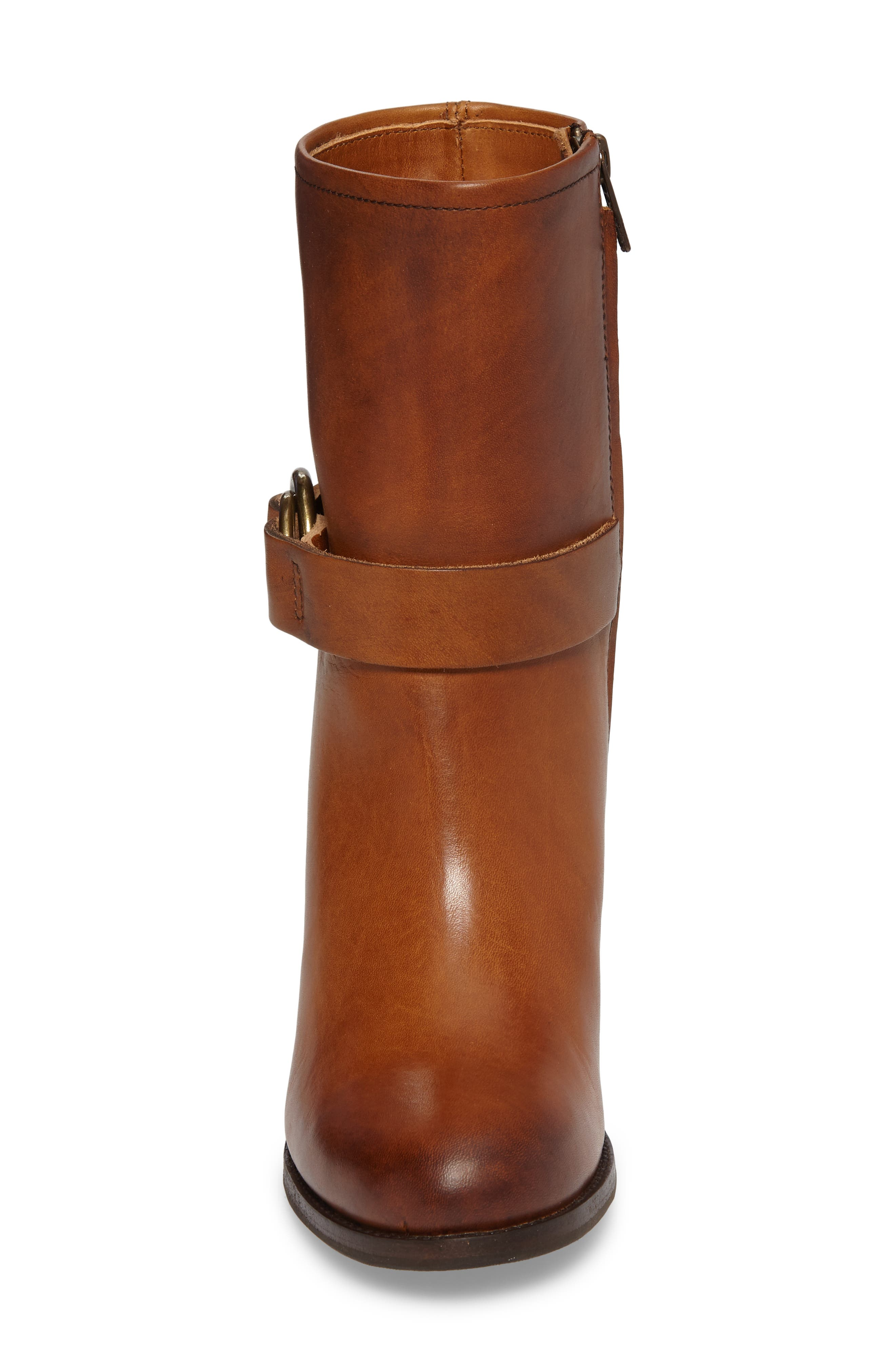 Addie Harness Boot,                             Alternate thumbnail 4, color,                             Brown
