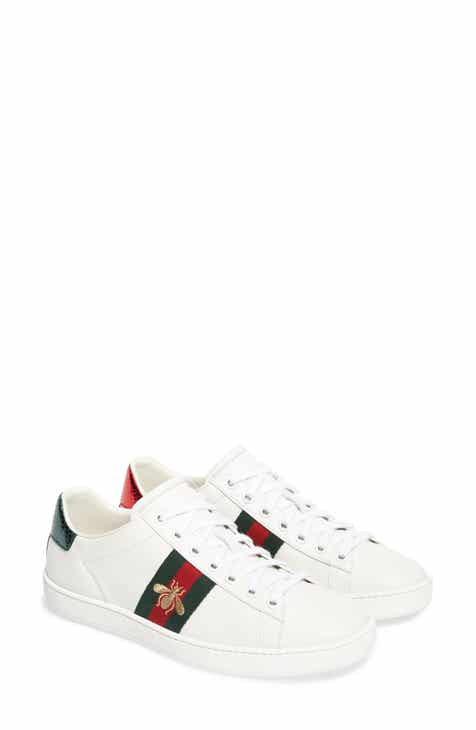 Gucci New Ace Sneaker (Women) 91934d1771e