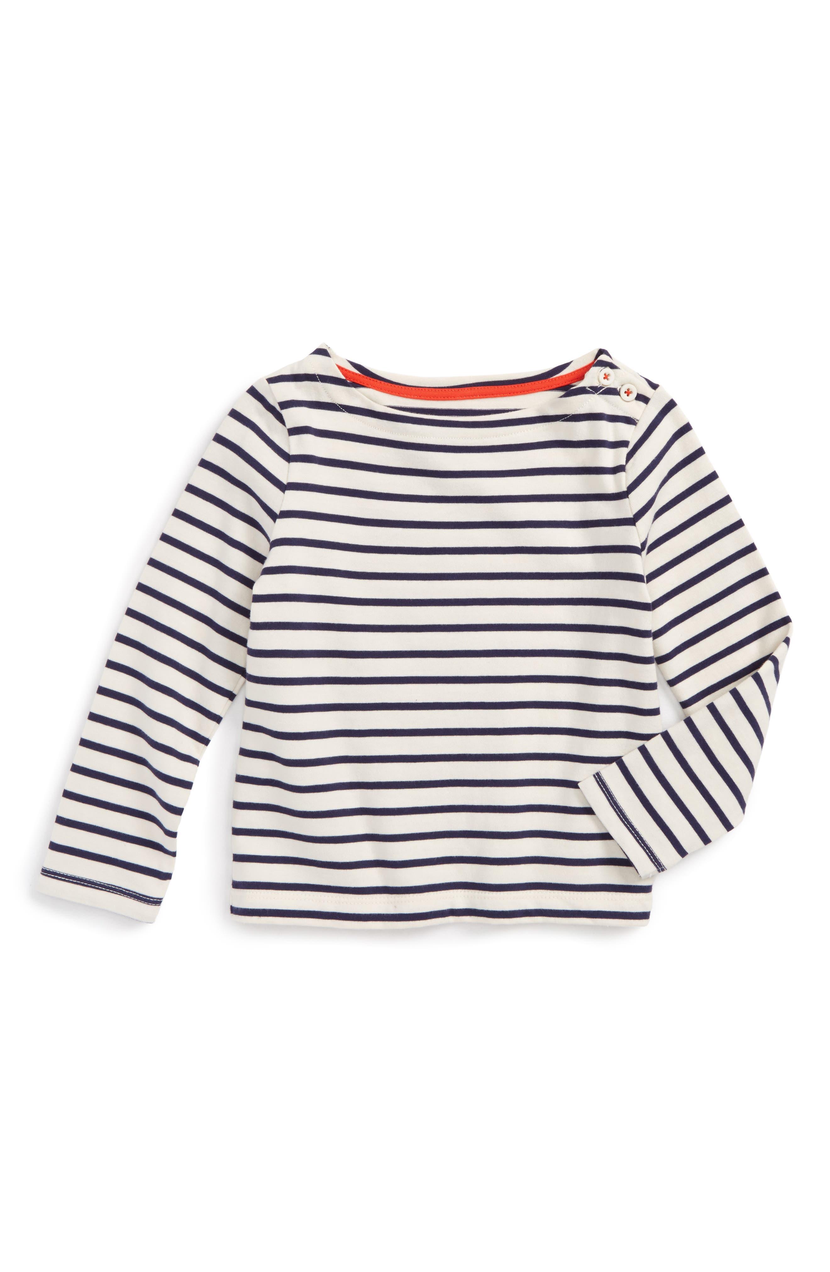 Mini Boden Breton Tee (Toddler Girls, Little Girls & Big Girls)