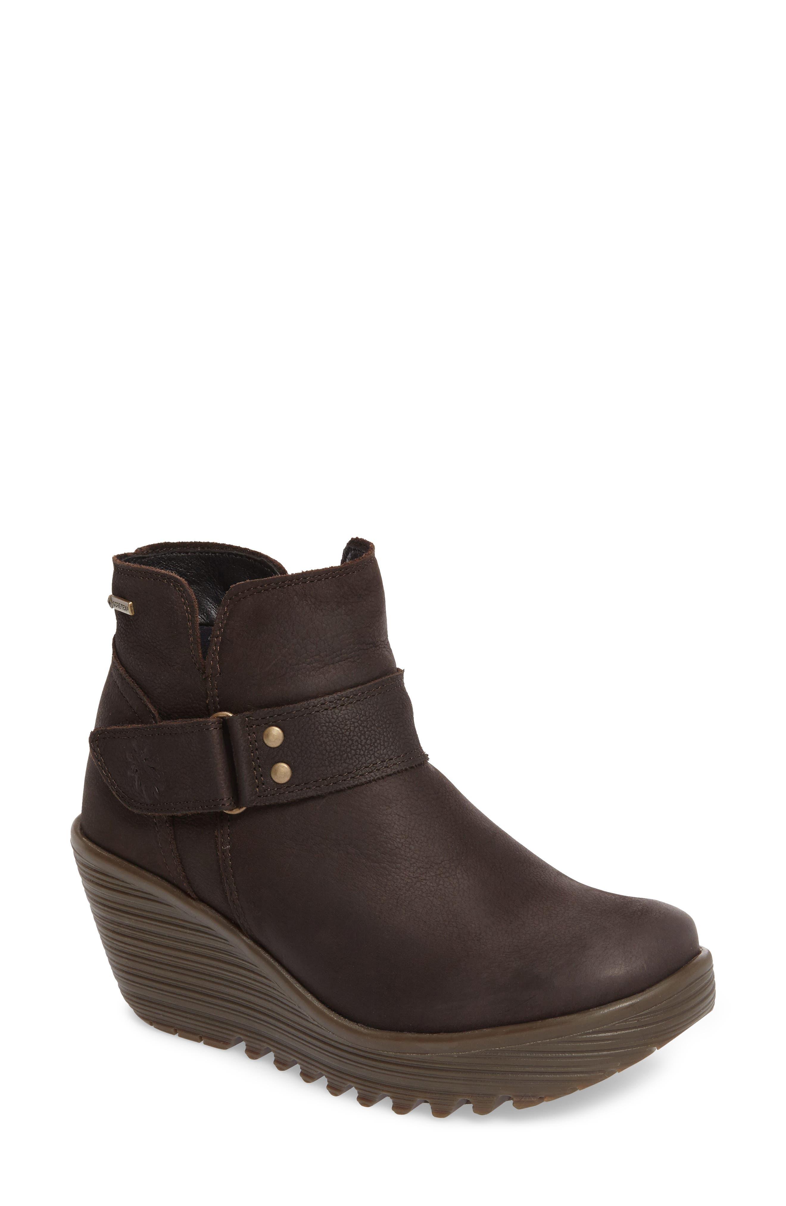 Alternate Image 1 Selected - Fly London Yock Waterproof Gore-Tex® Wedge Boot (Women)