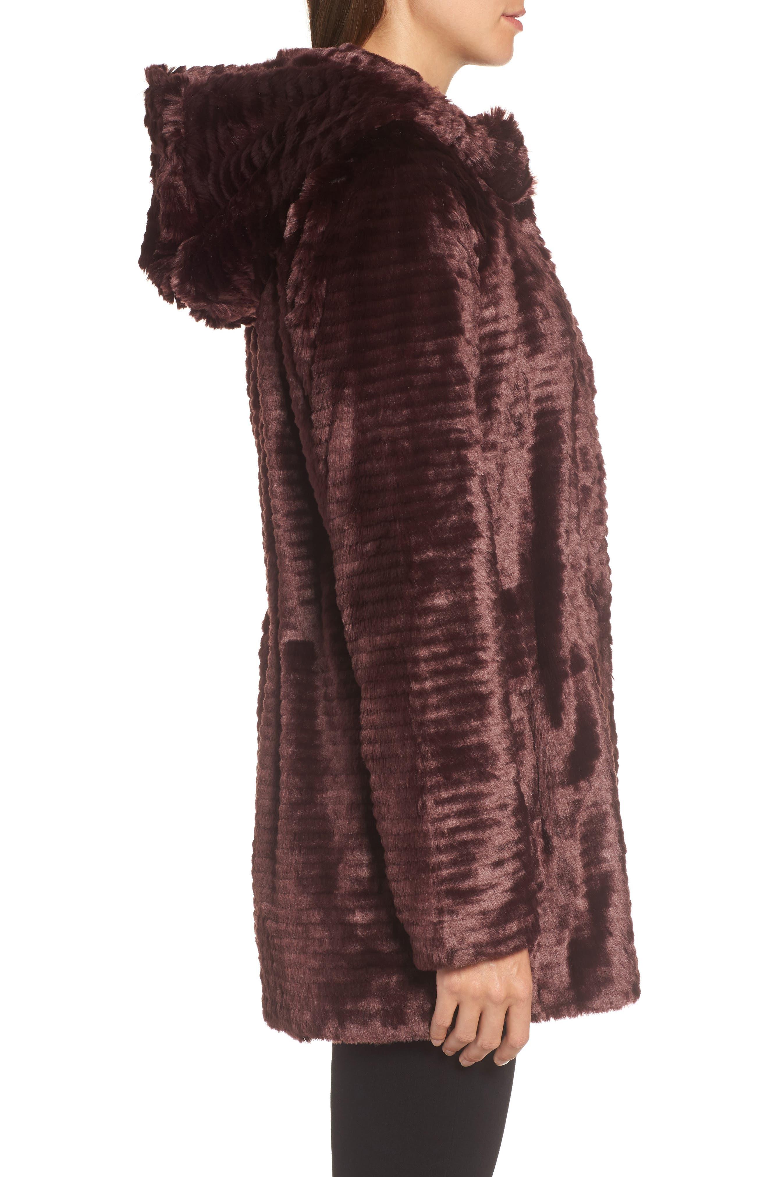 Alternate Image 3  - Vince Camuto Hooded Faux Fur Coat