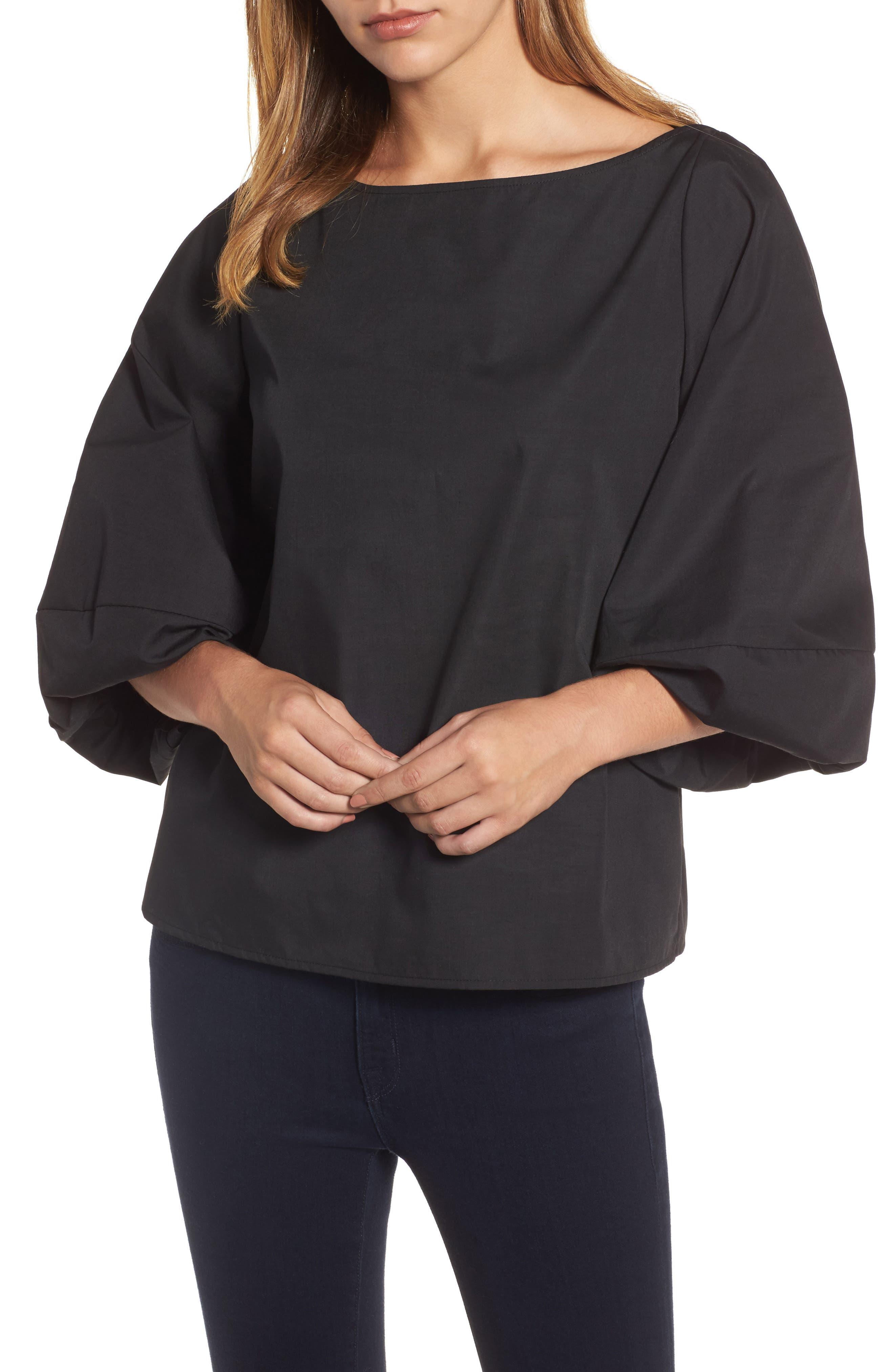 Main Image - Halogen® Blouson Bell Sleeve Top