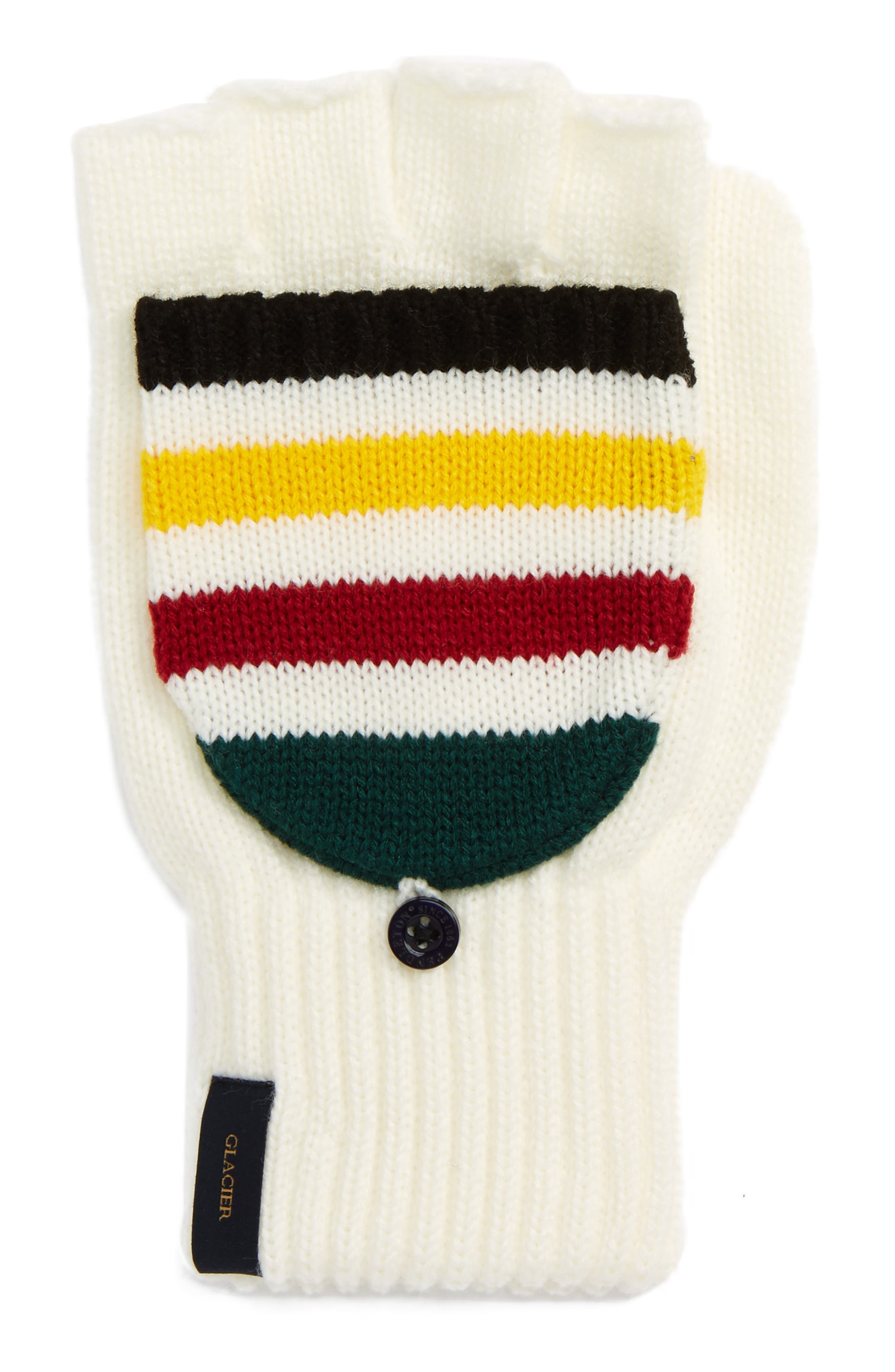 Main Image - Pendleton National Park Pop Top Mittens
