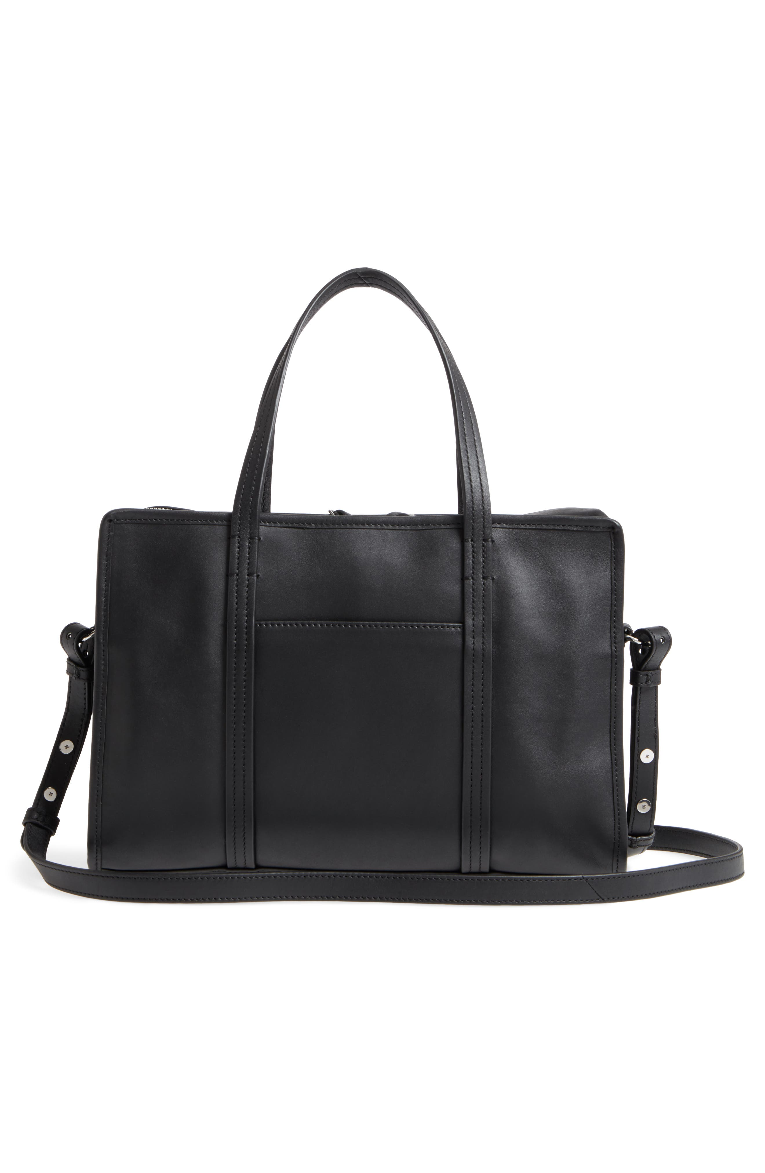 Alternate Image 3  - Steven Alan Large Simone Calfskin Leather Satchel