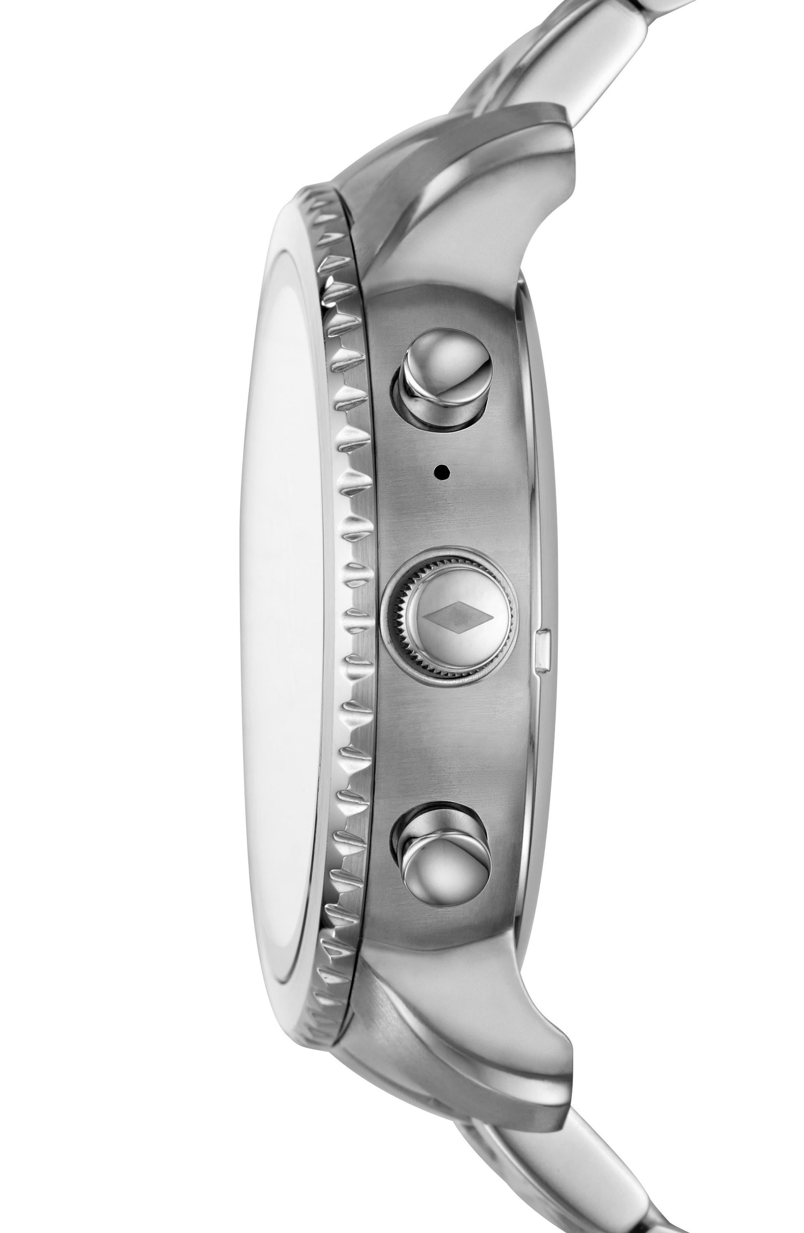 Alternate Image 2  - Fossil Q Explorist Gen 3 Bracelet Smartwatch, 44mm