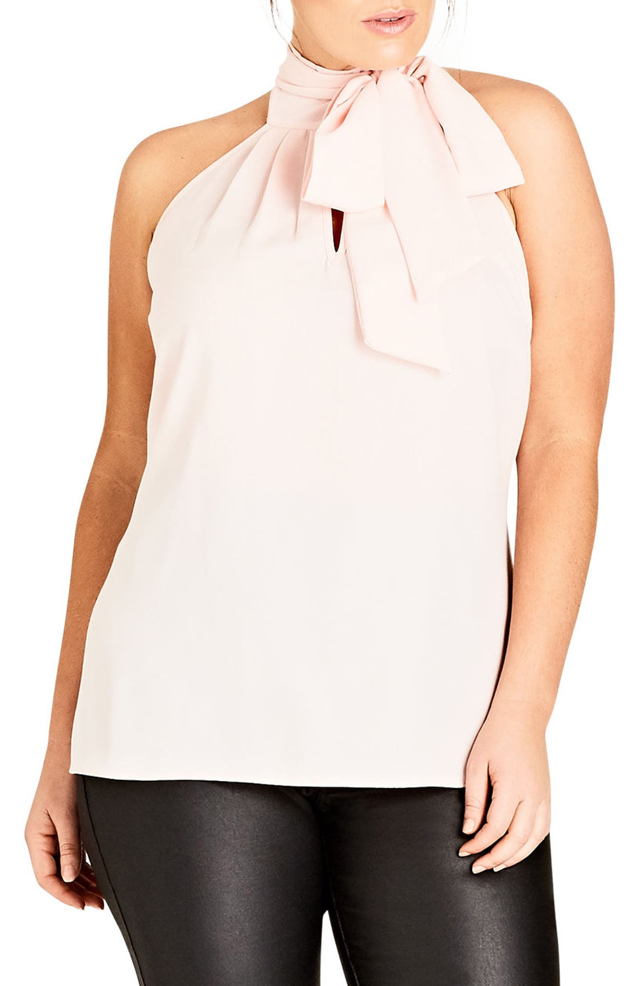 City Chic Bow Top (Plus Size)