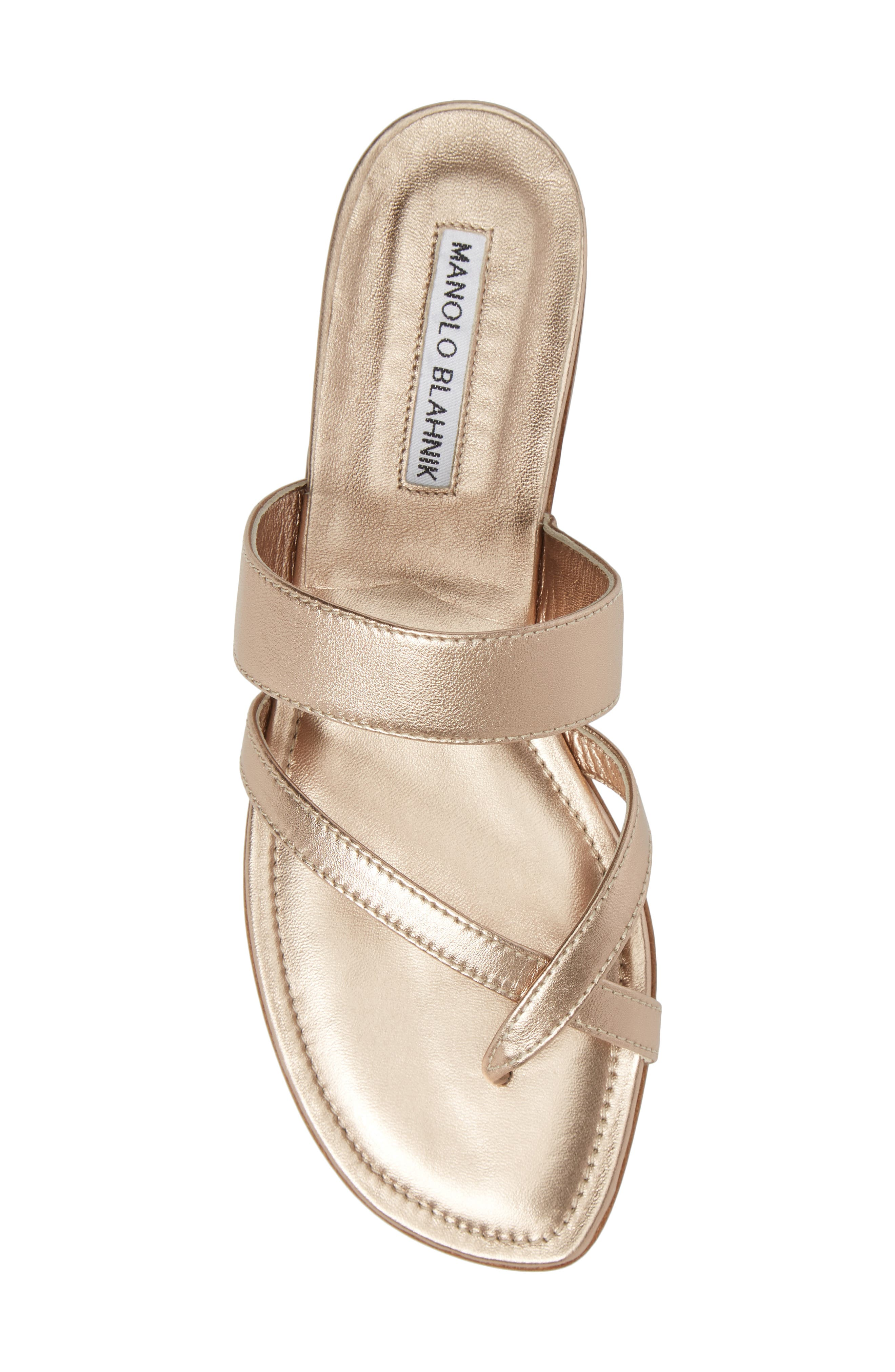 Alternate Image 5  - Manolo Blahnik Slide Sandal (Women)