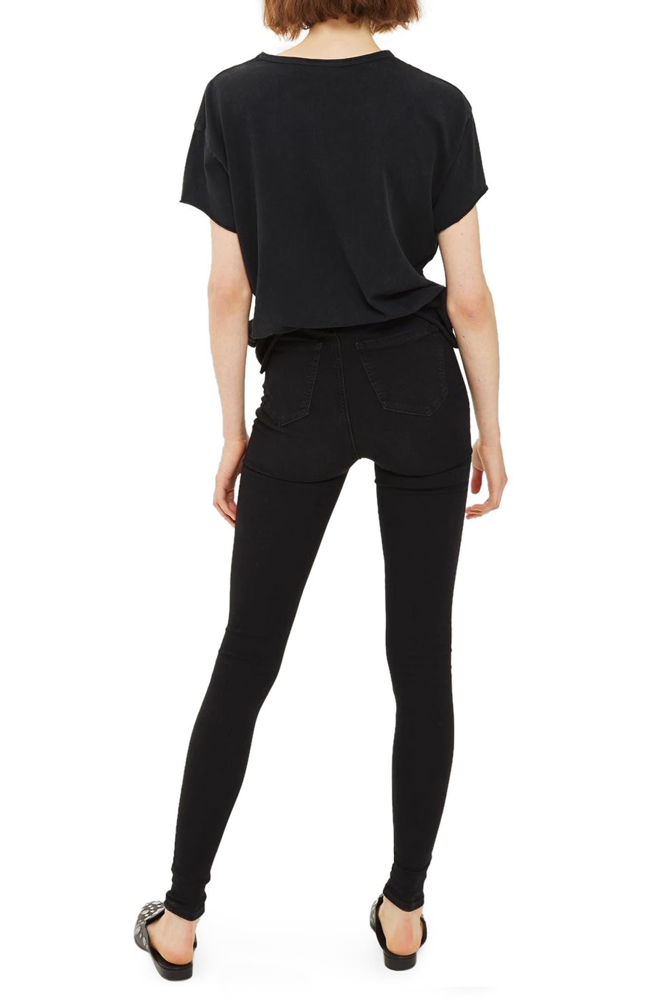 Alternate Image 2  - Topshop Joni Super Rip Skinny Jeans (Tall)