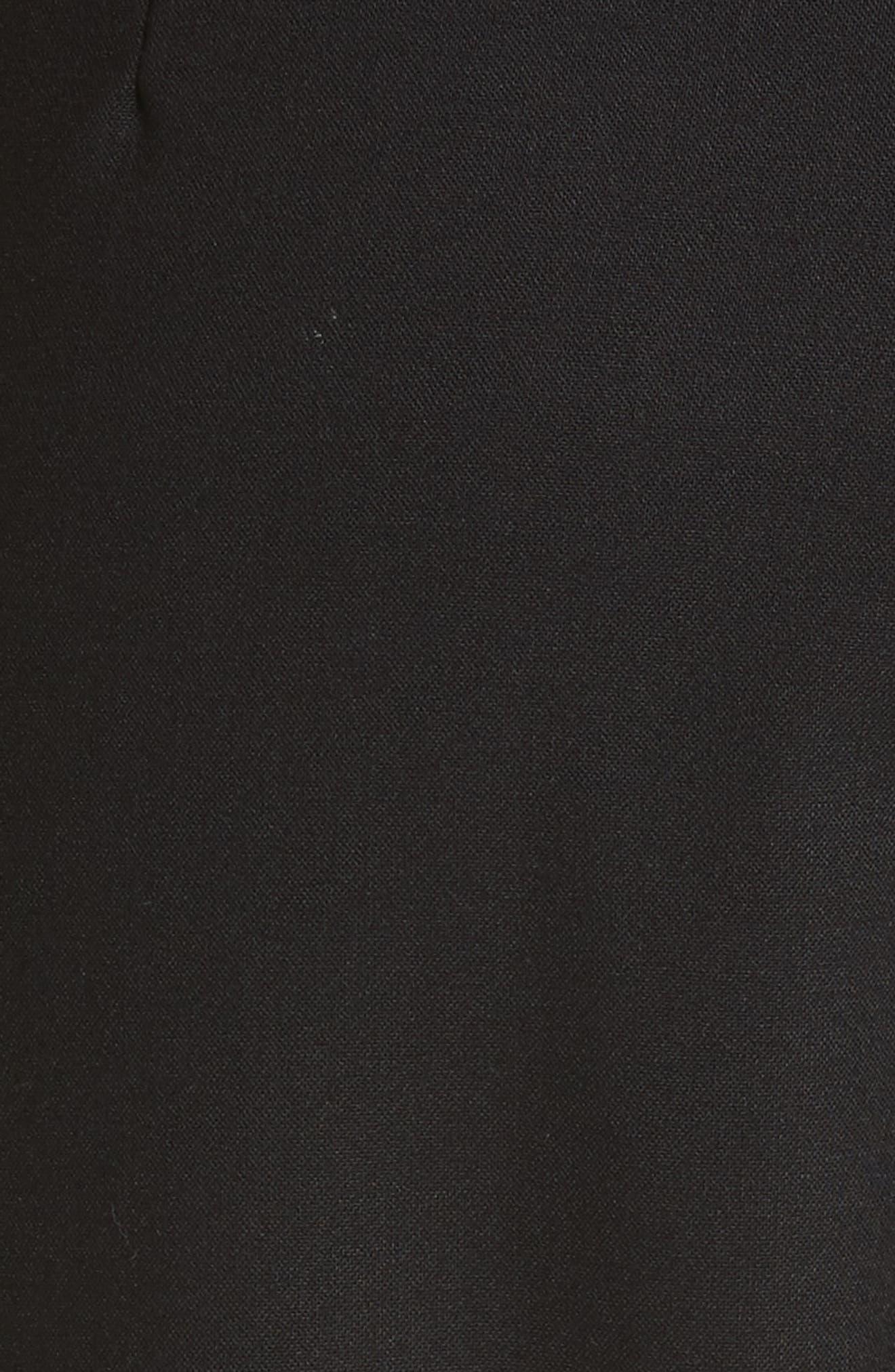 Alternate Image 5  - CALVIN KLEIN 205W39NYC Velvet Stripe Stretch Wool Pants