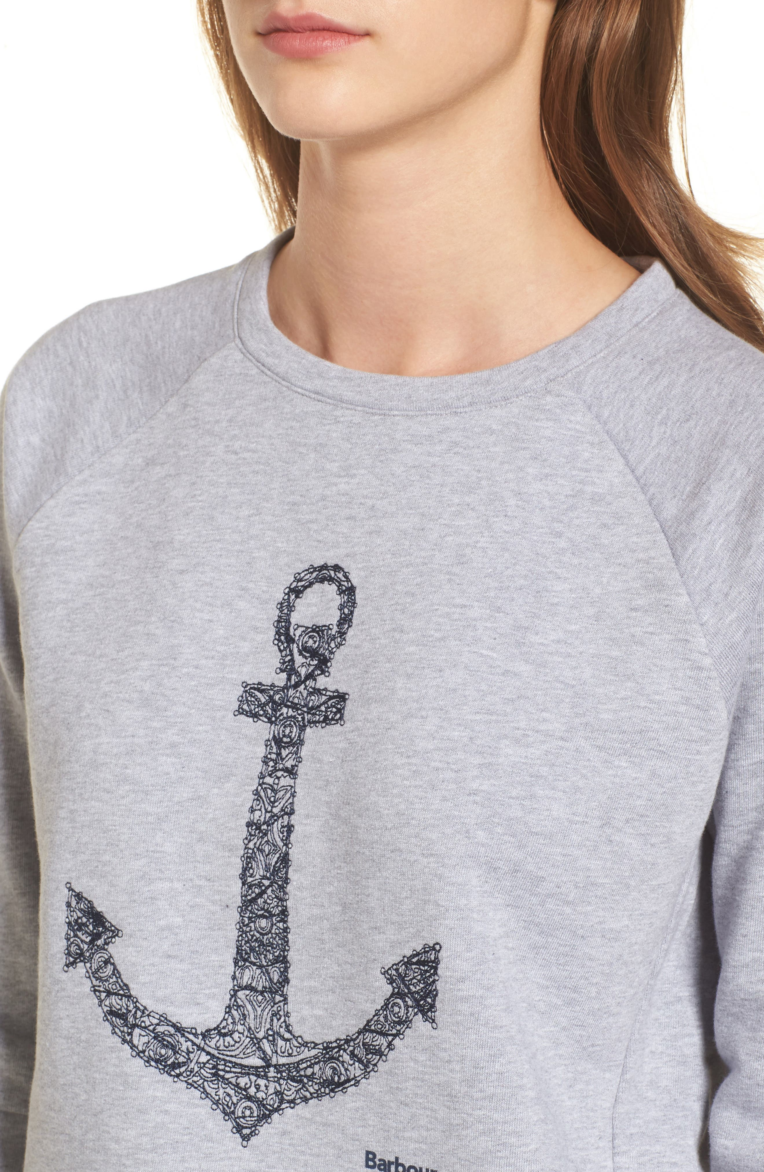 Wester Sweatshirt,                             Alternate thumbnail 4, color,                             Light Grey