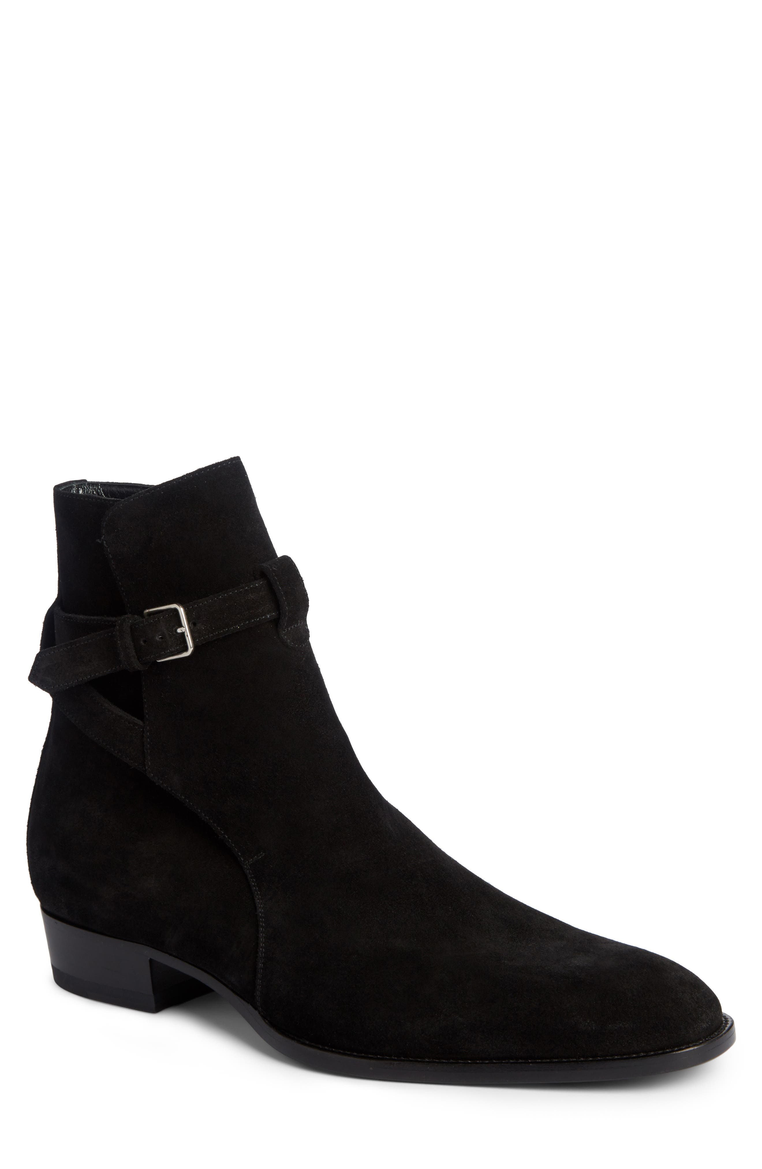 Saint Laurent Wyatt Jodhpur Boot (Men)