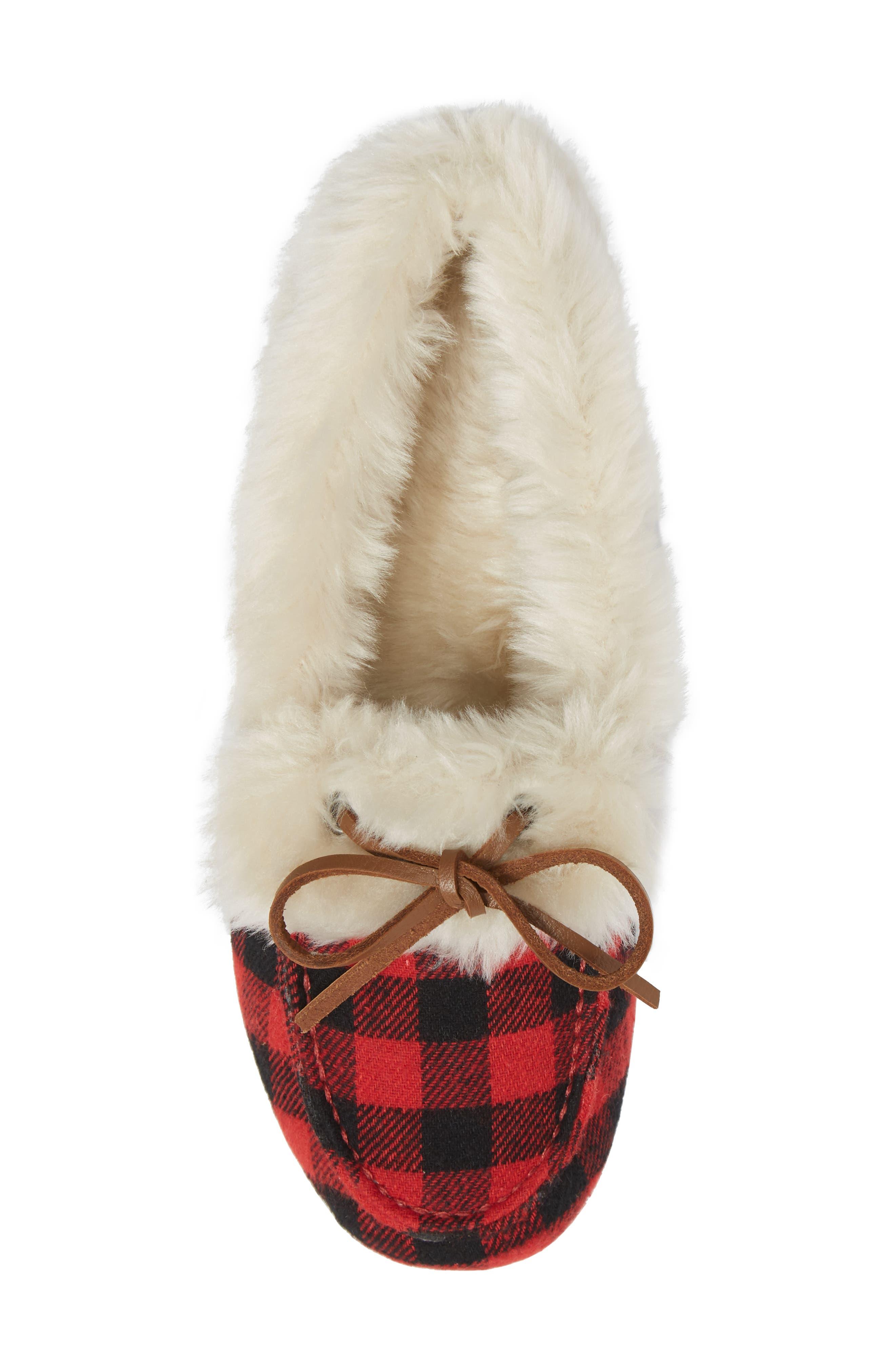 Alternate Image 5  - Vionic Juniper Faux Fur Slipper (Women)