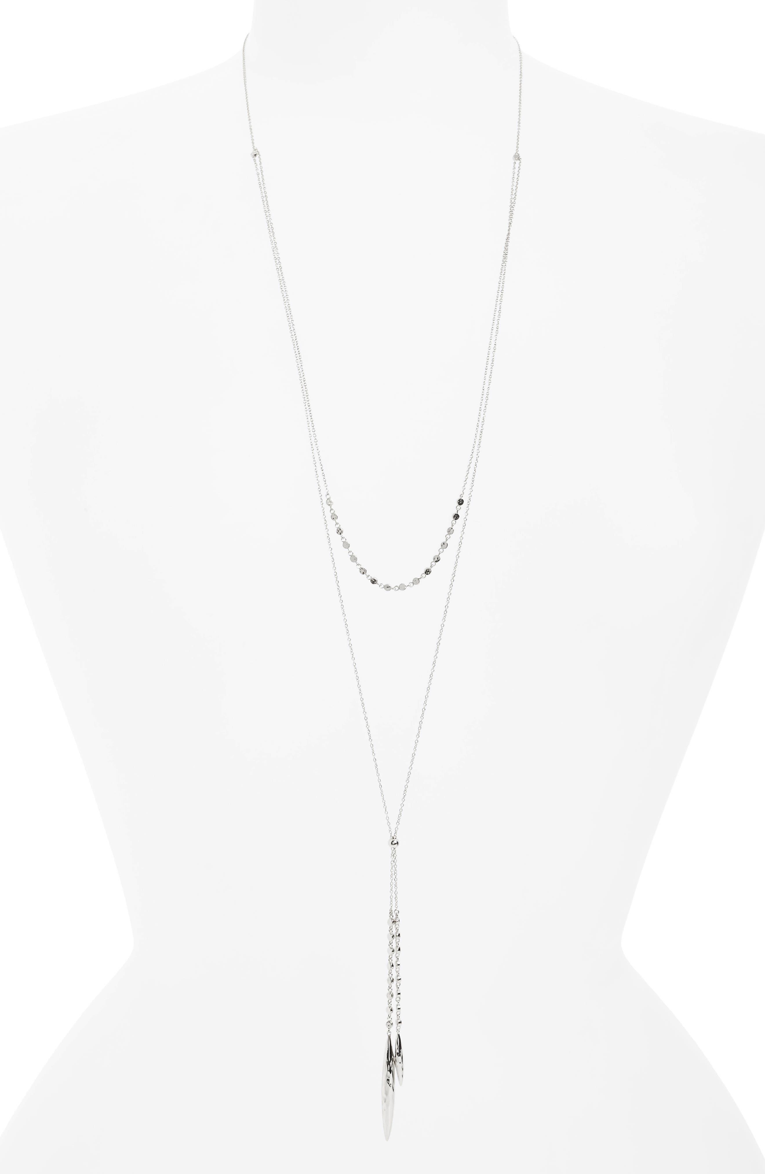 Alternate Image 1 Selected - gorjana Chloe Multistrand Necklace