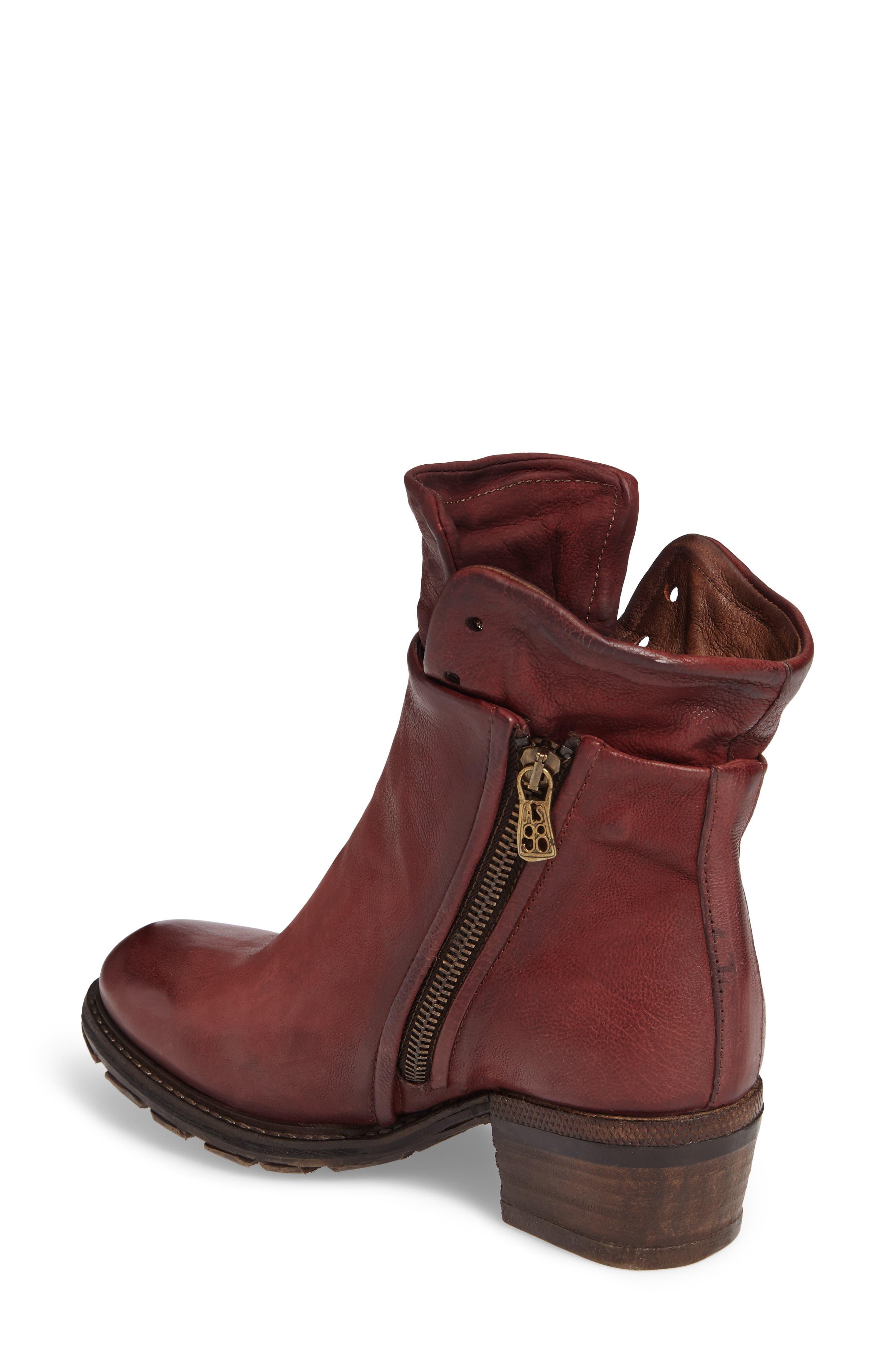 A.S. 98 Cadmus Boot,                             Alternate thumbnail 2, color,                             Amaranto