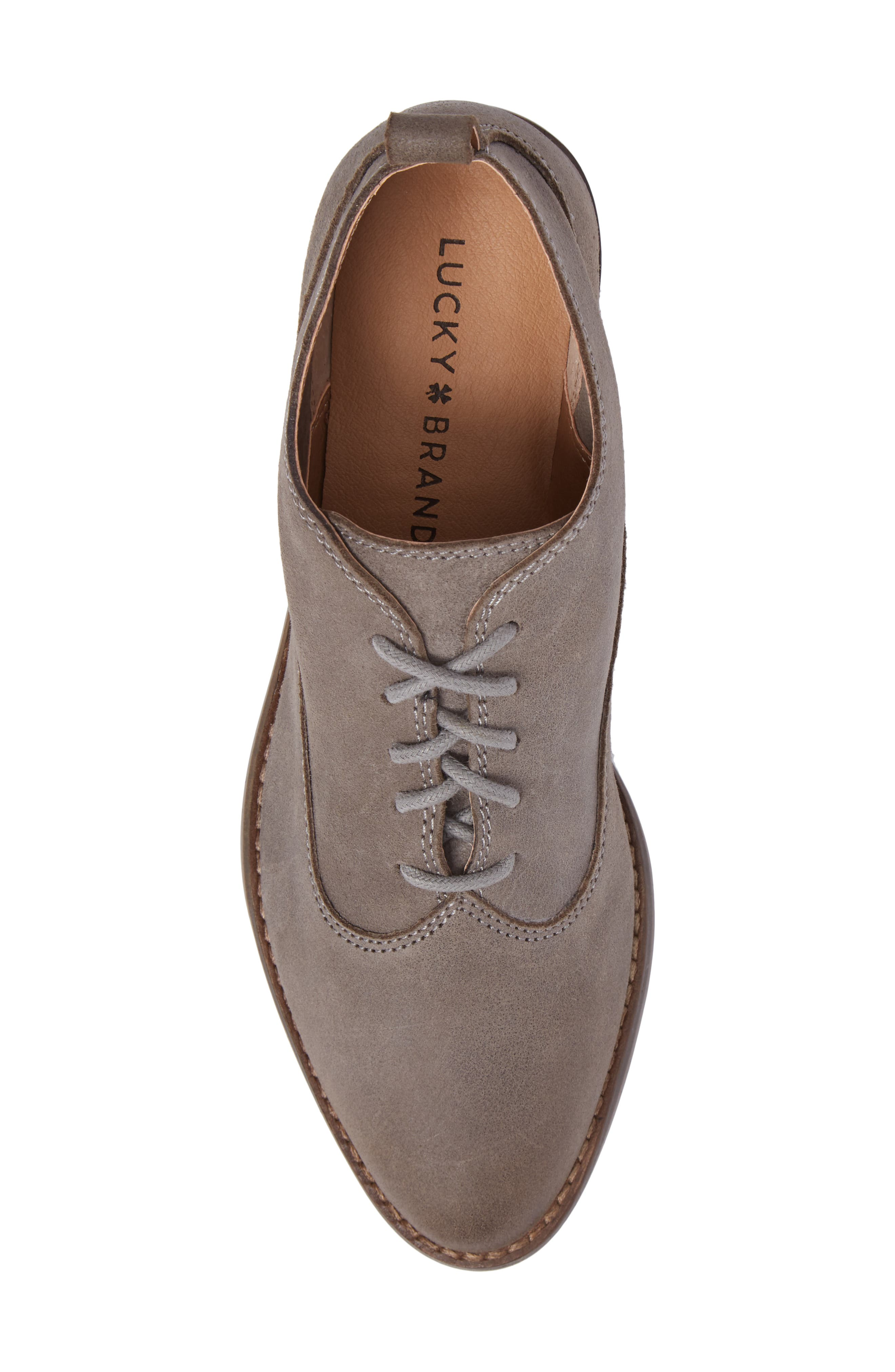 Alternate Image 5  - Lucky Brand Fantine Lace-Up Bootie (Women)