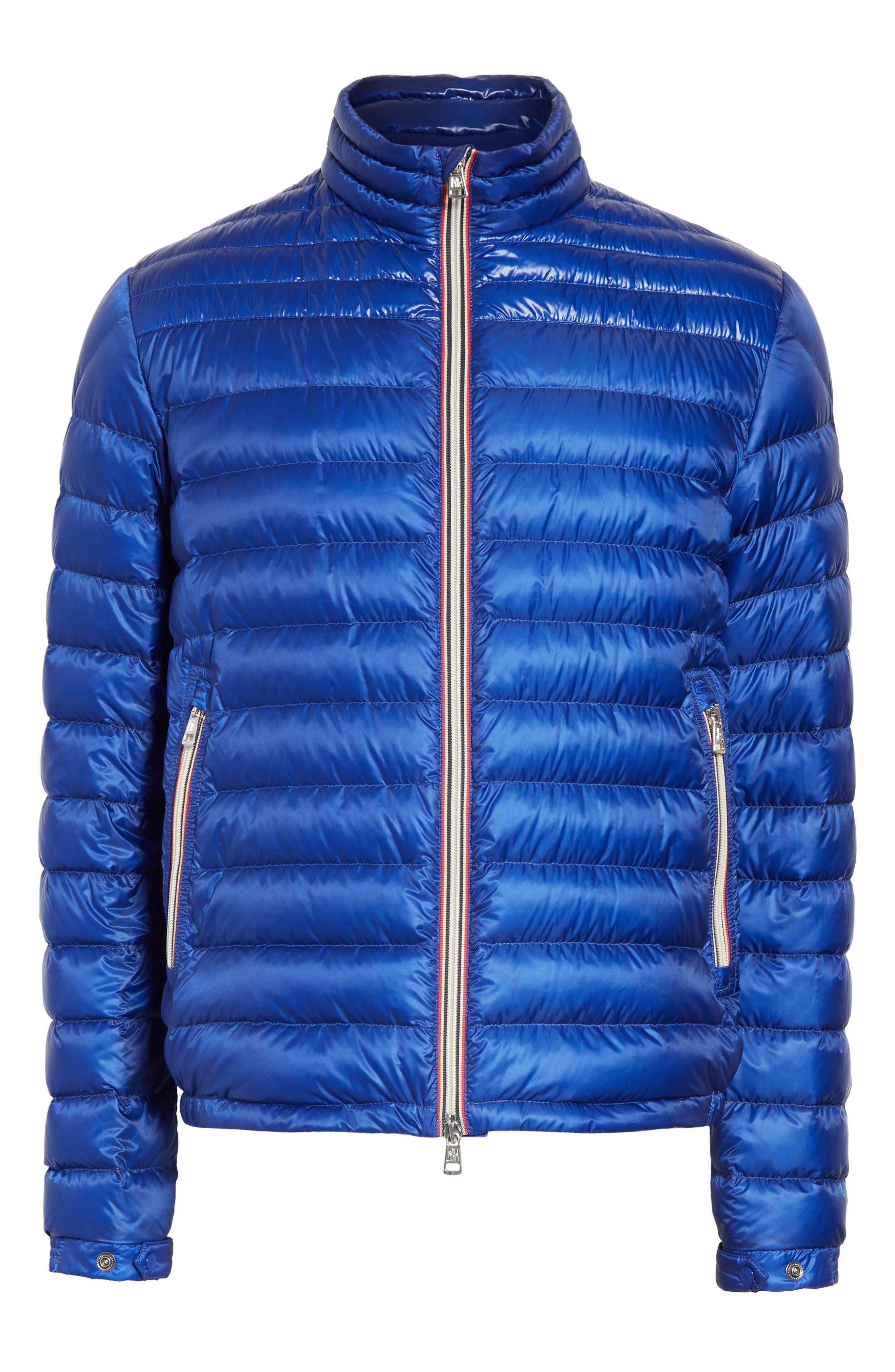 Daniel Packable Down Jacket,                             Alternate thumbnail 6, color,                             Bright Blue
