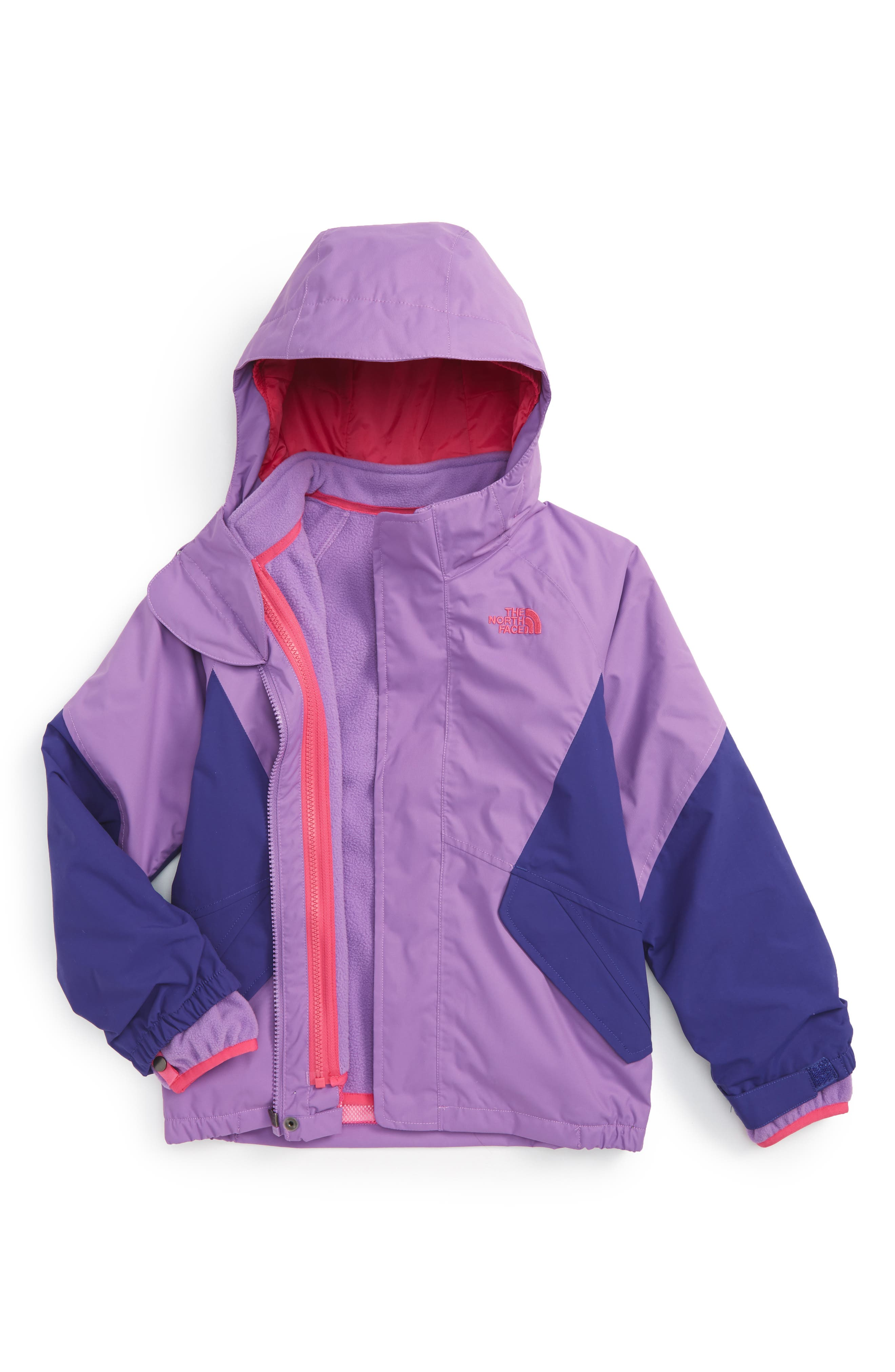 The North Face Kira Triclimate® 3-in-1 Jacket (Toddler Girls)
