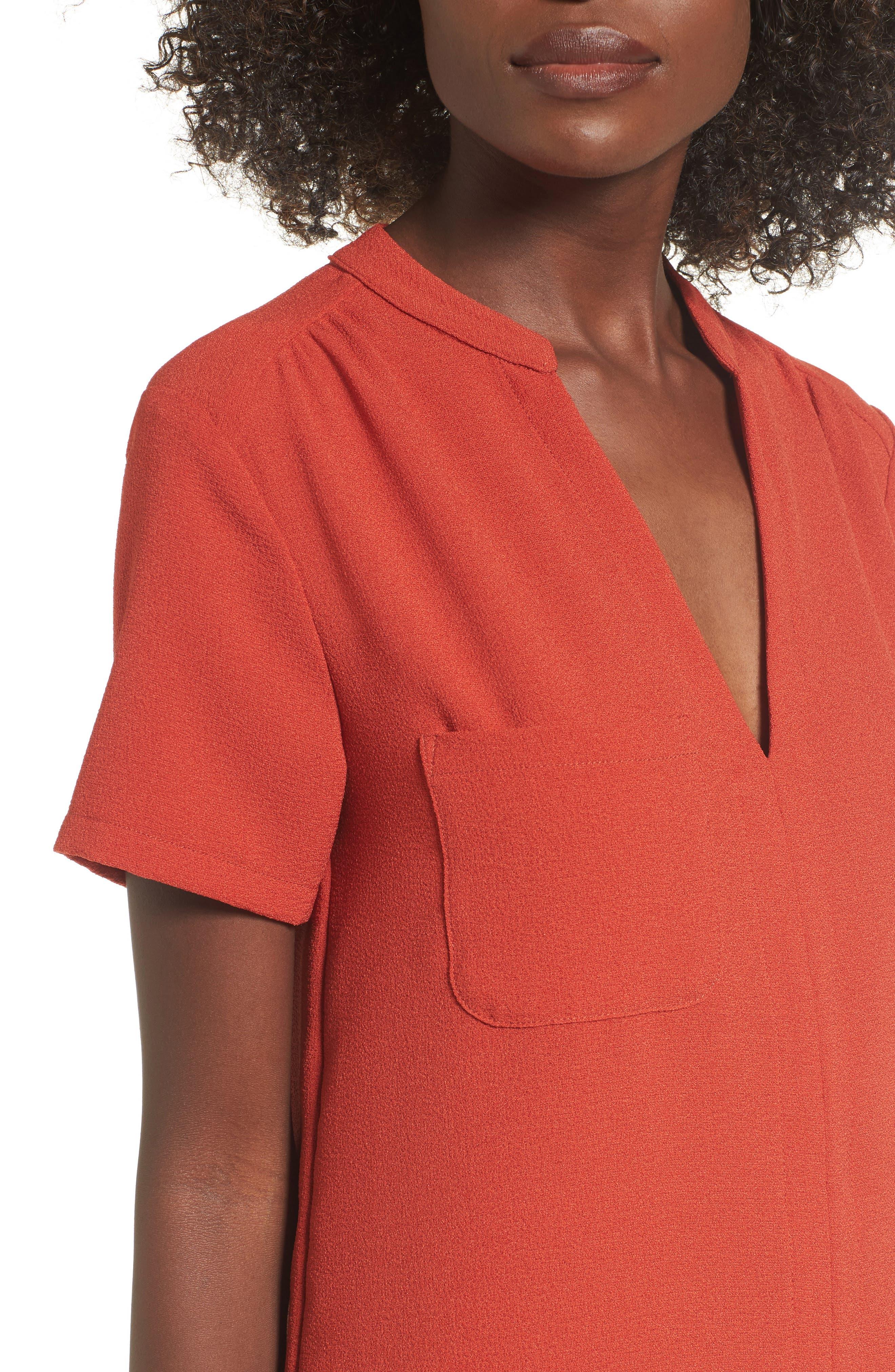Alternate Image 4  - Hailey Crepe Dress
