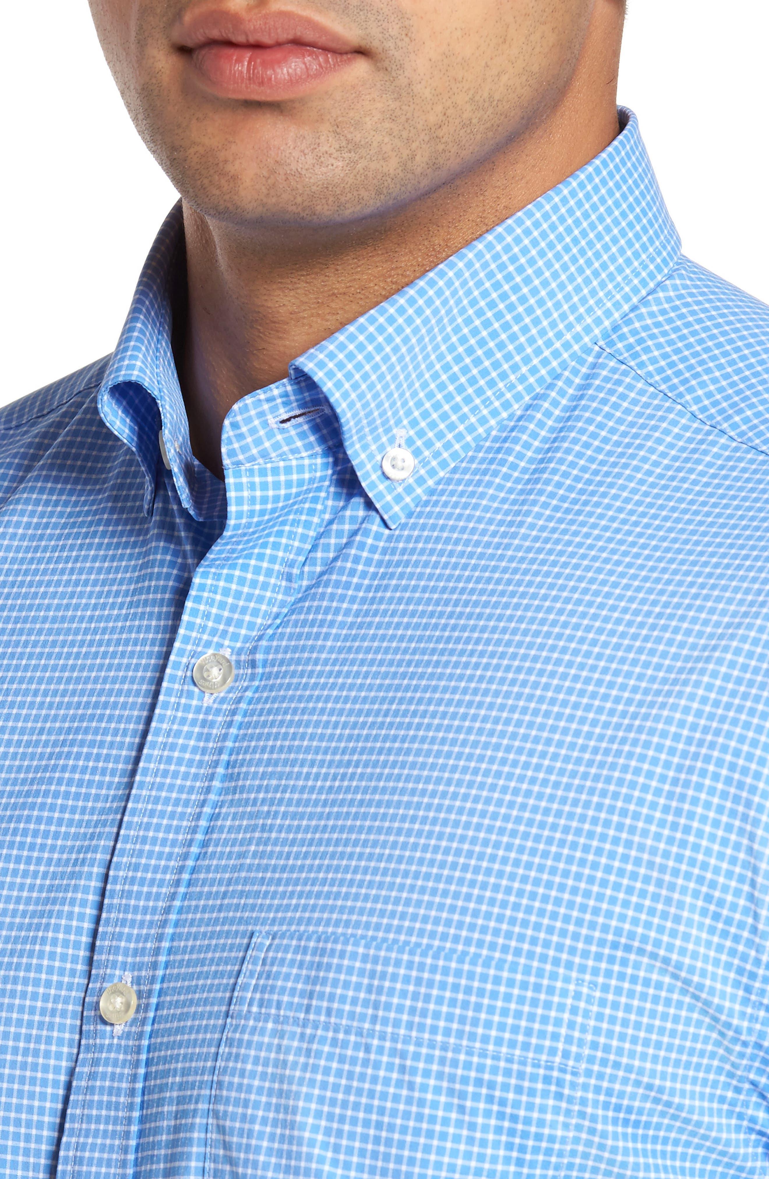 Alternate Image 2  - vineyard vines Anchor Row Classic Fit Check Sport Shirt