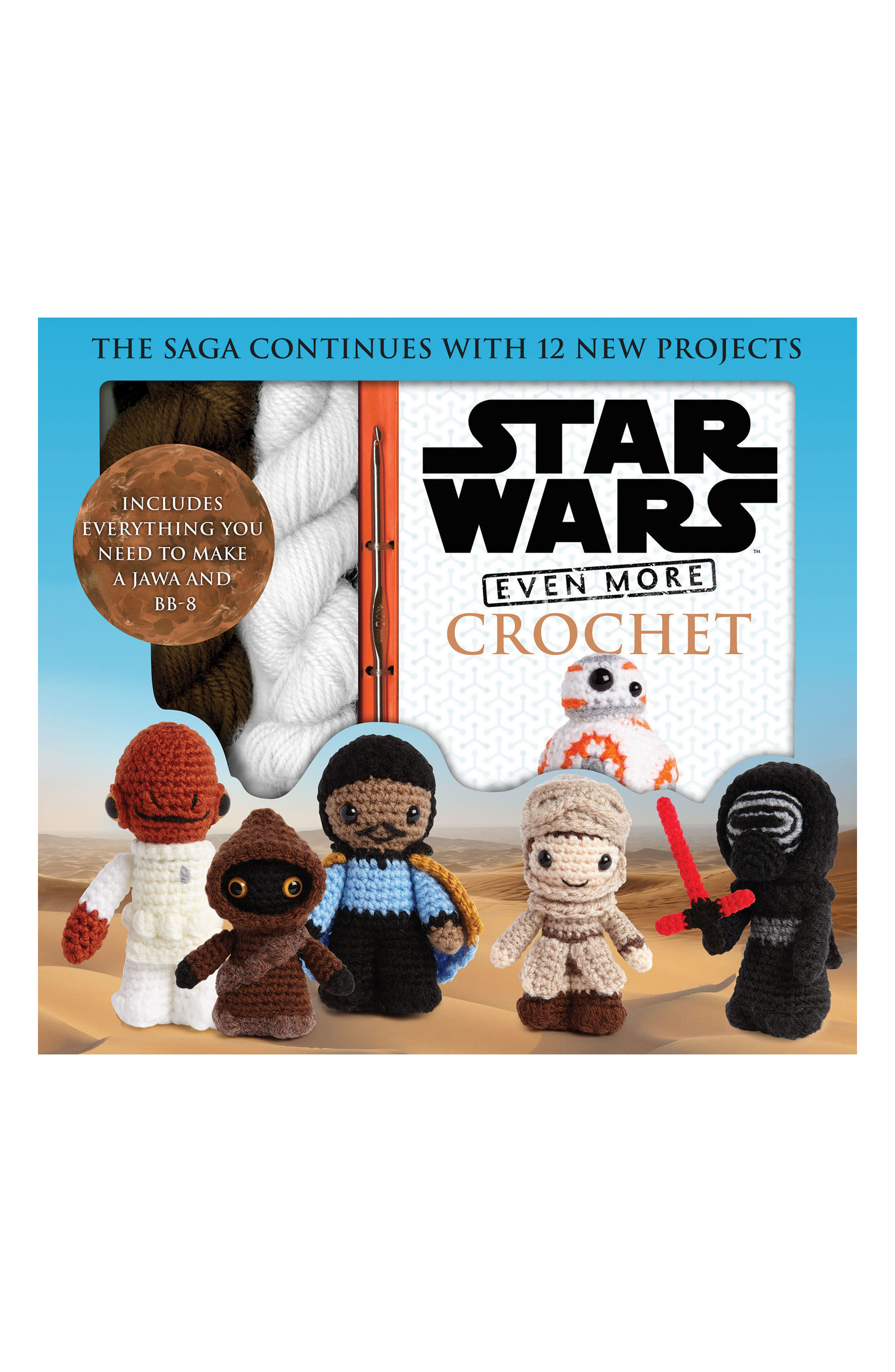 Star Wars Even More Crochet Book & Kit,                         Main,                         color, White