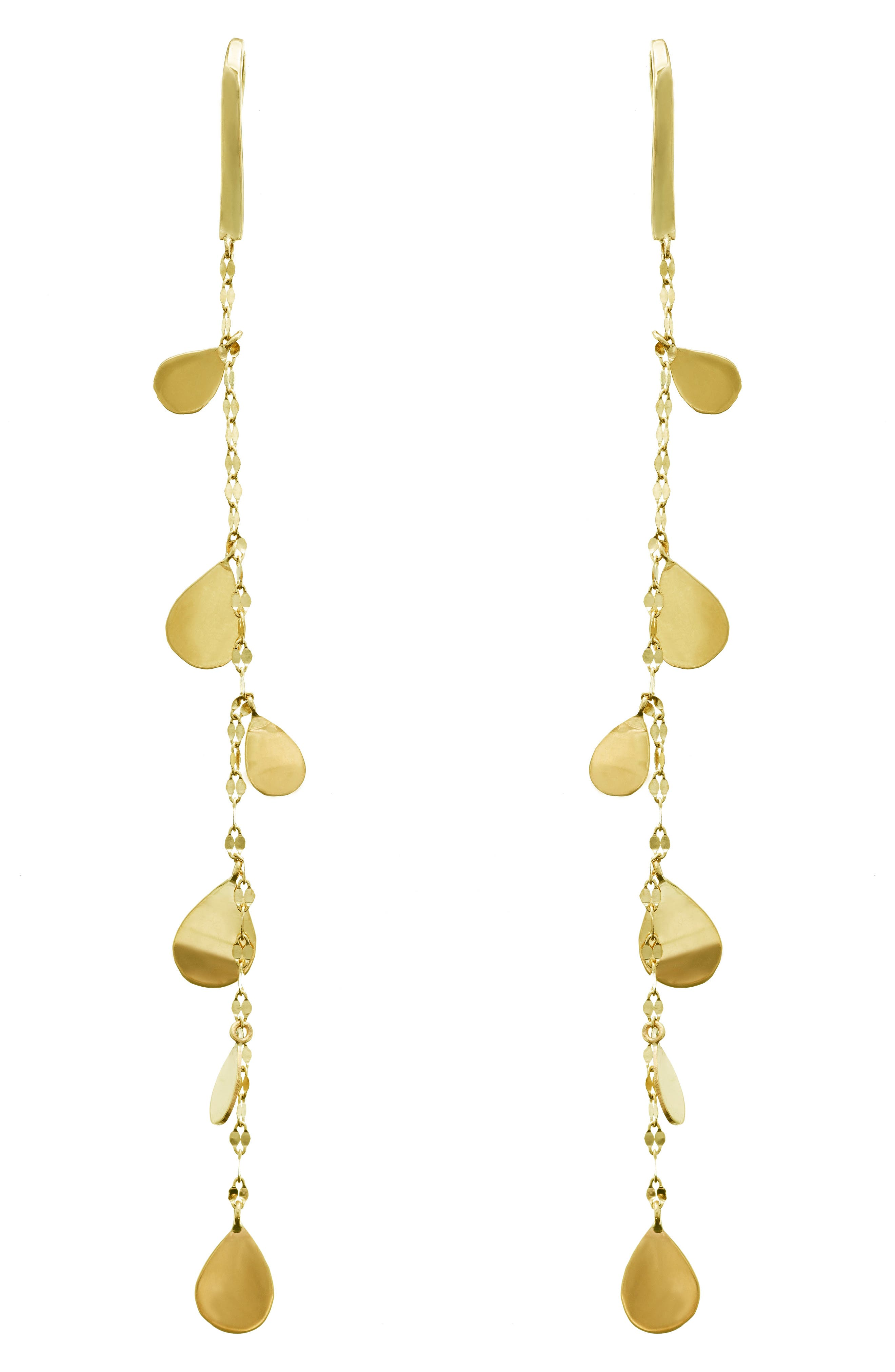 Lana Jewelry Teardrop Linear Drop Earrings