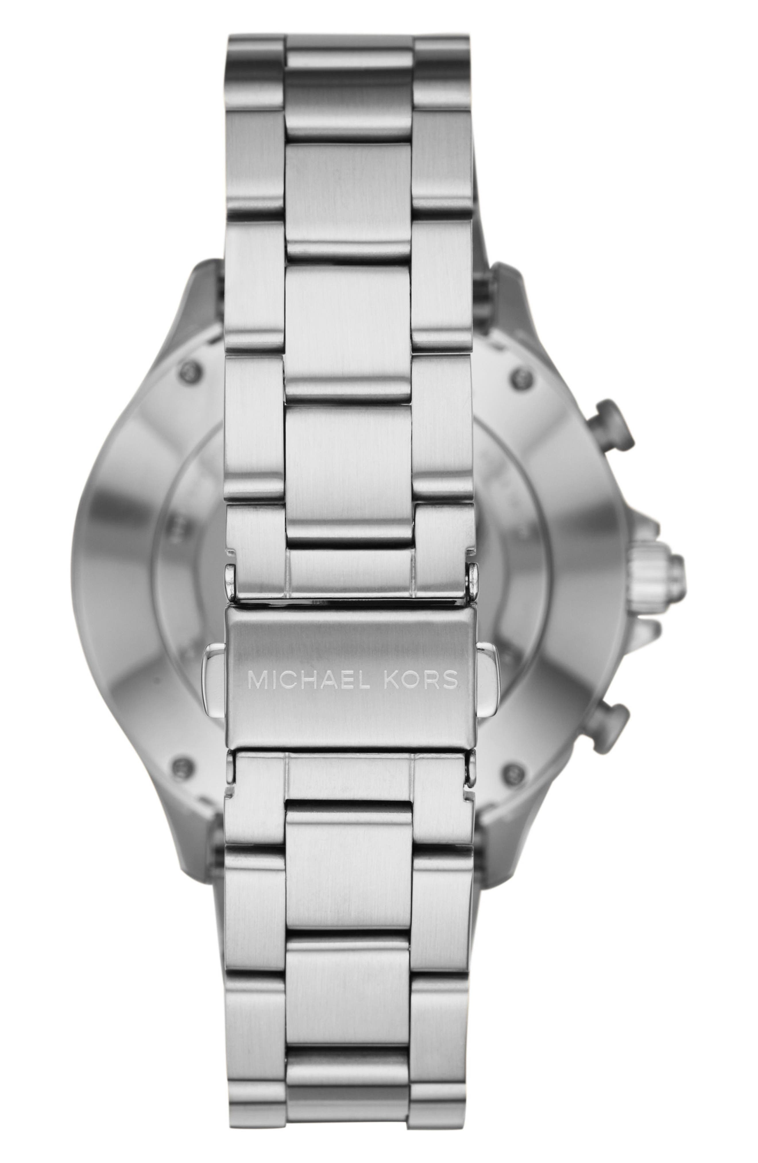 Alternate Image 2  - Michael Kors Access Reid Hybrid Bracelet Watch, 45mm