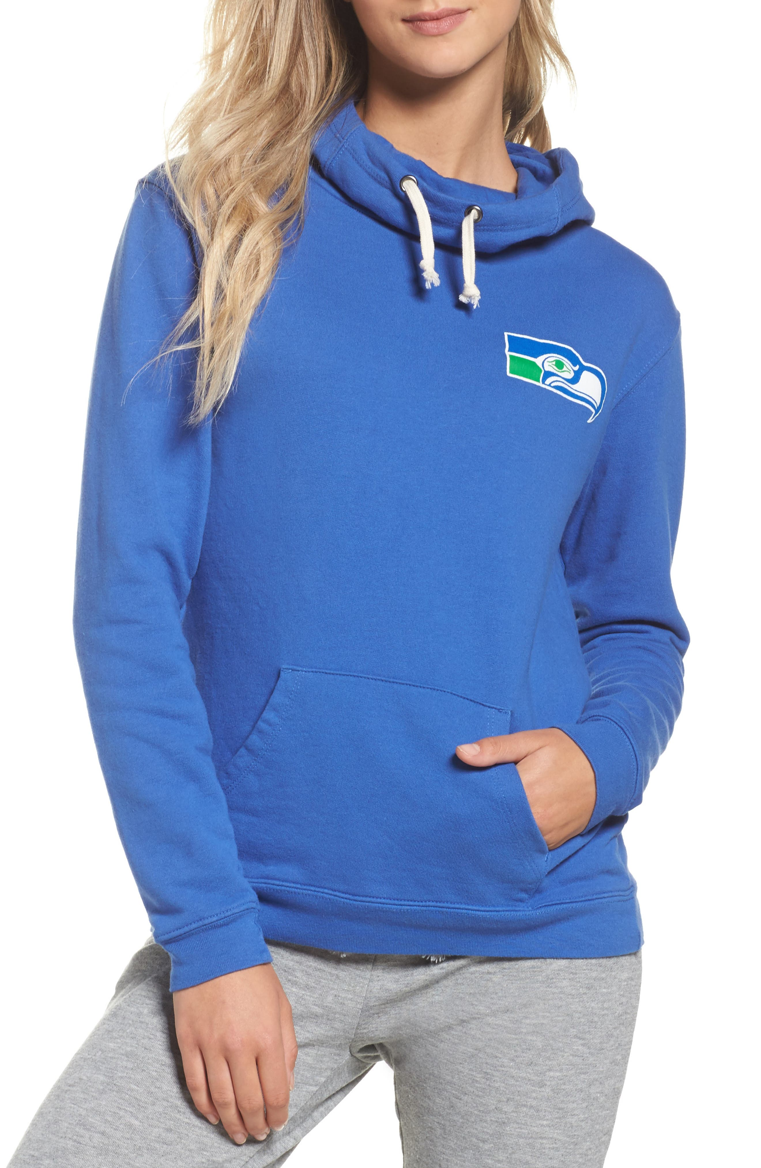 NFL Seattle Seahawks Sunday Hoodie,                         Main,                         color, Liberty
