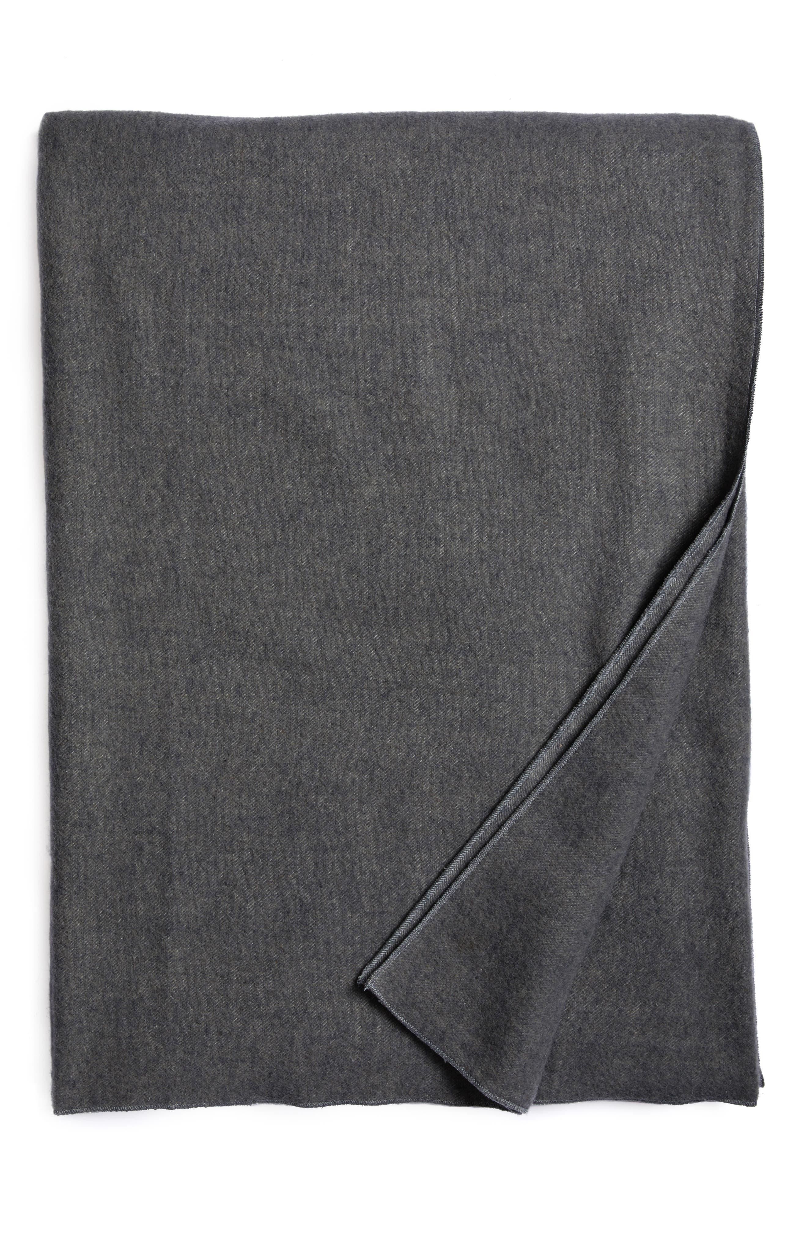 Series 1 Wool Blanket,                         Main,                         color, Charcoal