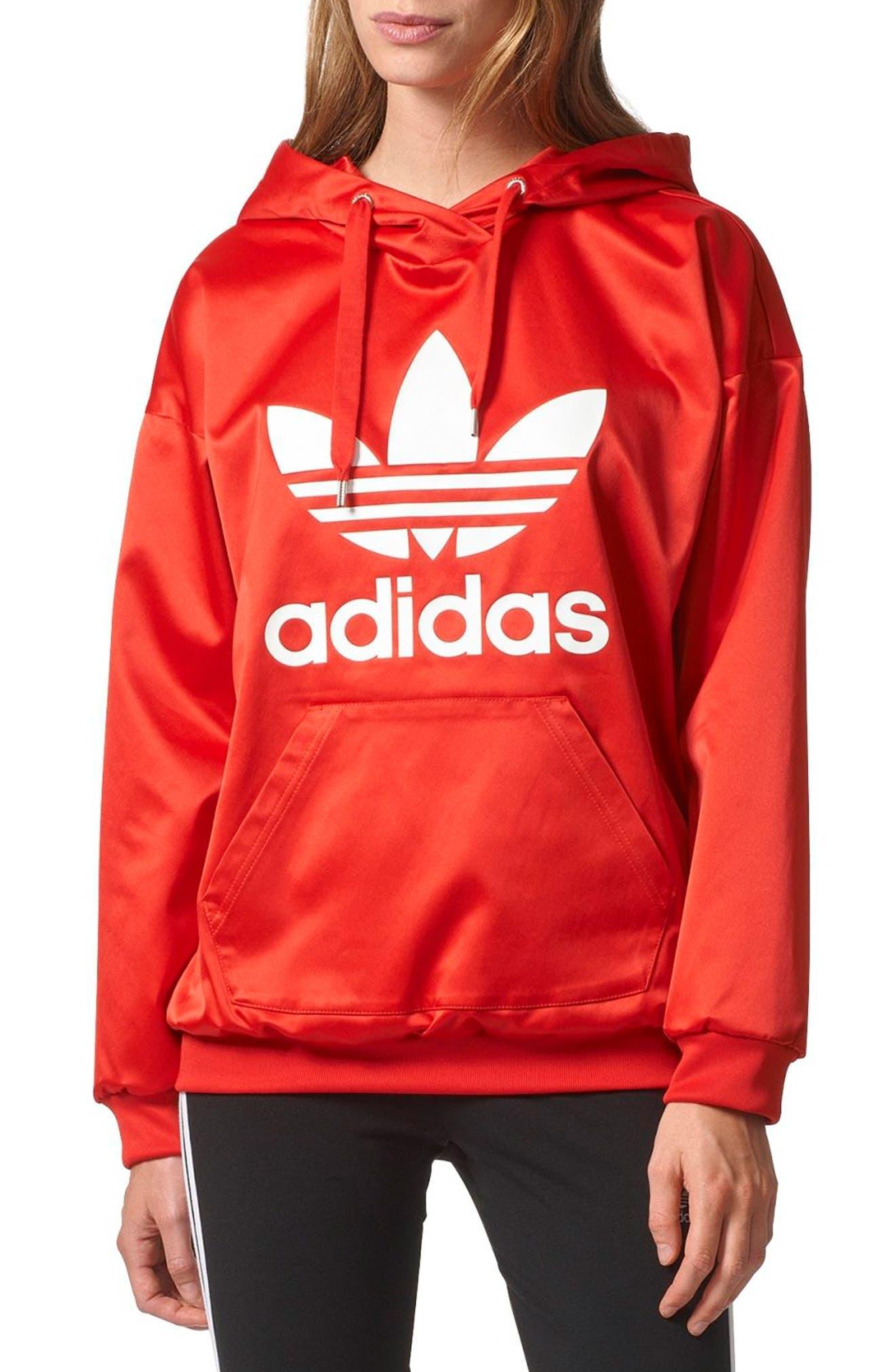 Alternate Image 1 Selected - adidas Originals Trefoil Hoodie