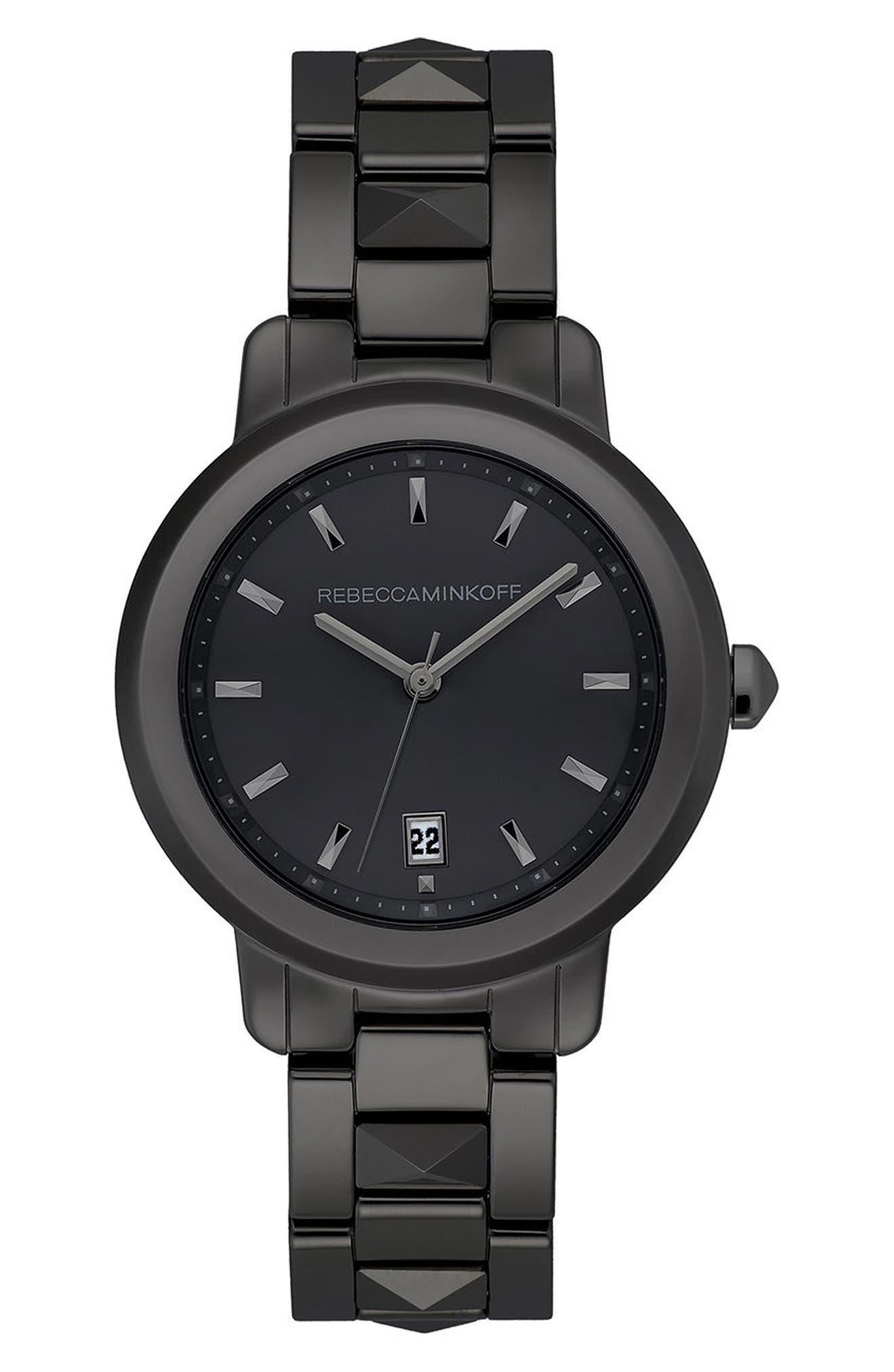 BFFL Bracelet Watch, 36mm,                             Main thumbnail 1, color,                             Black