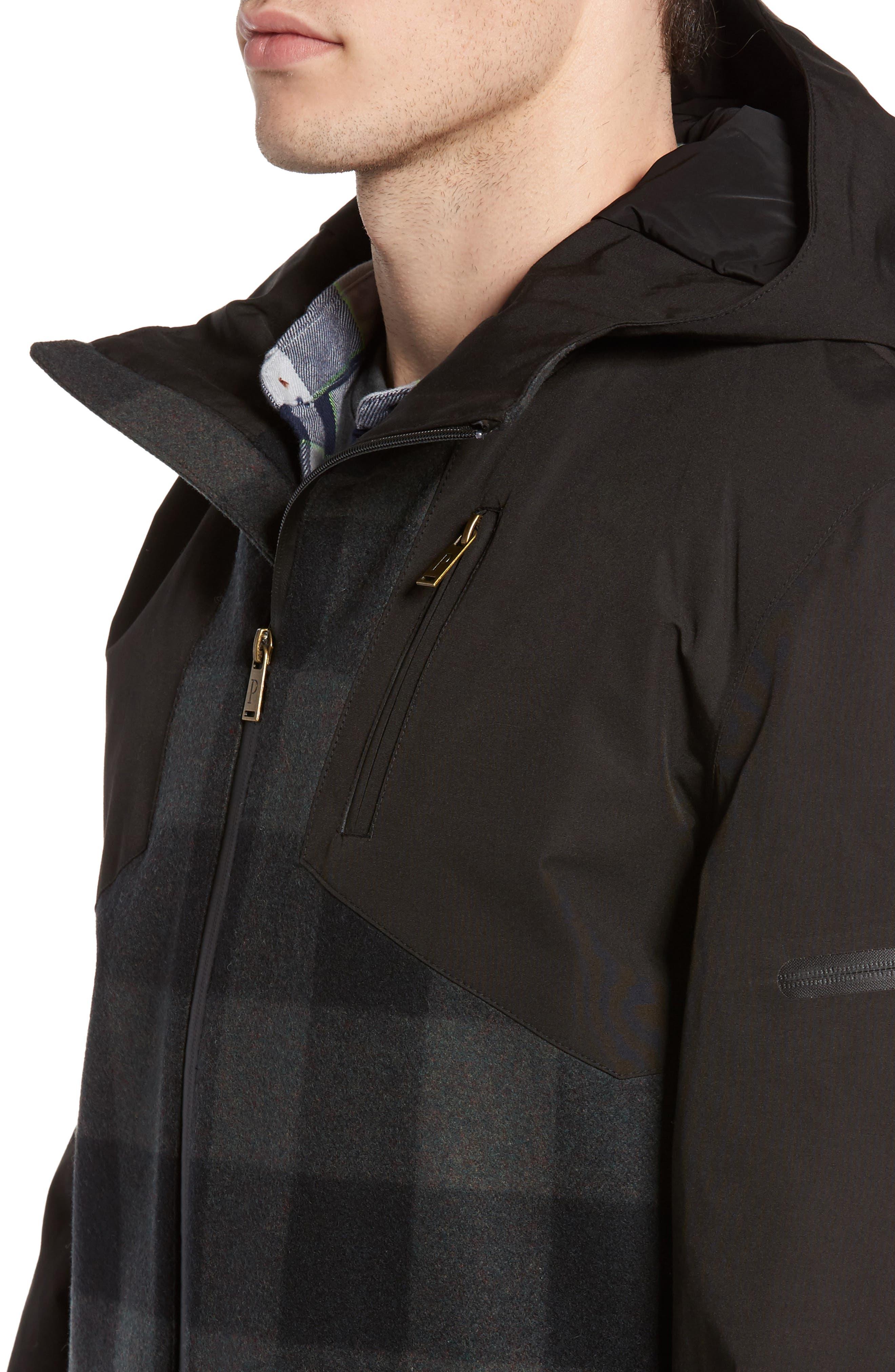 Alternate Image 4  - Pendleton Jackson Hole Waterproof Hooded Jacket