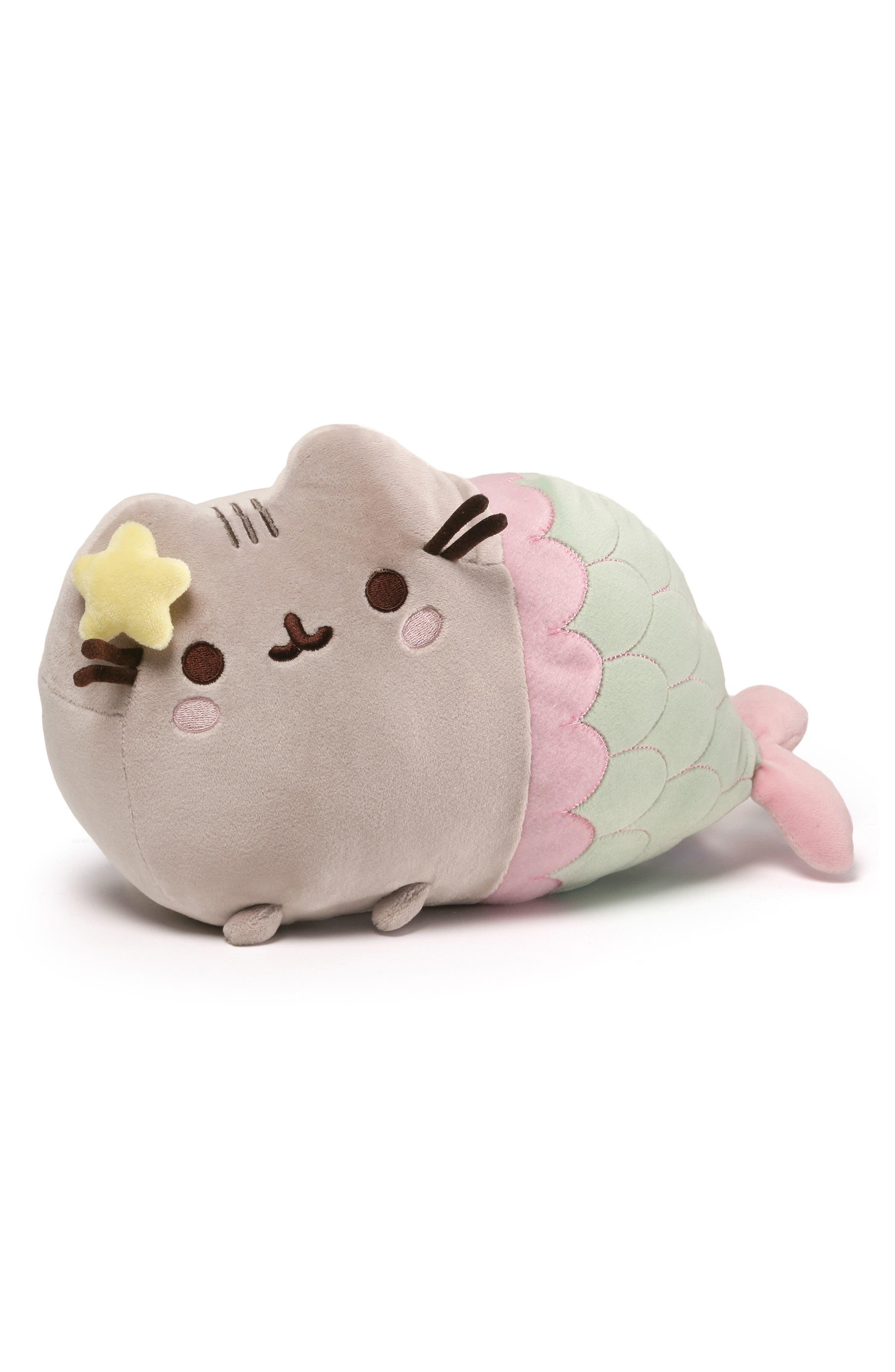 Gund Pusheen Stuffed Toy Backpack Clip