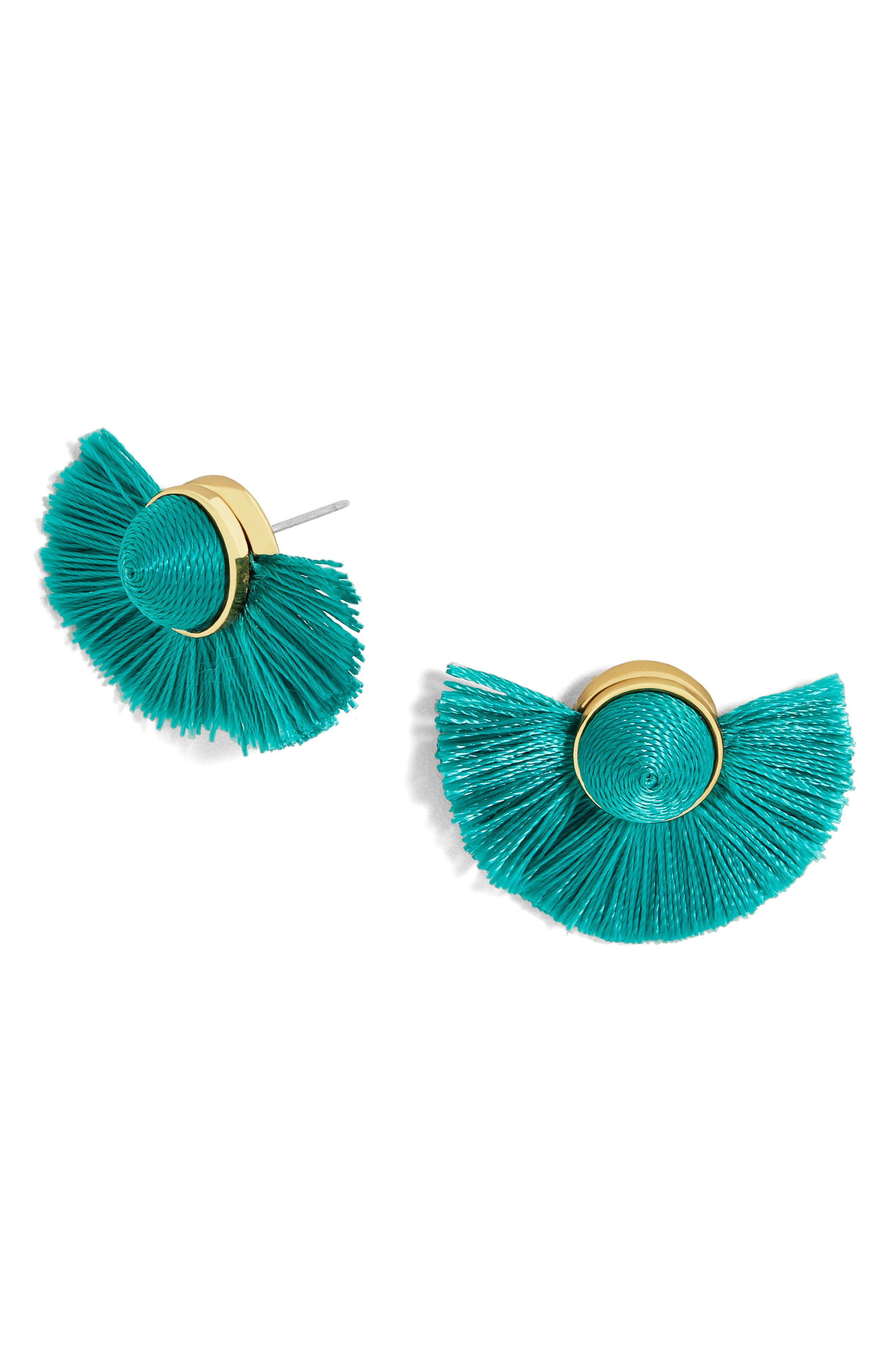 BaubleBar Tango Fringe Stud Earrings