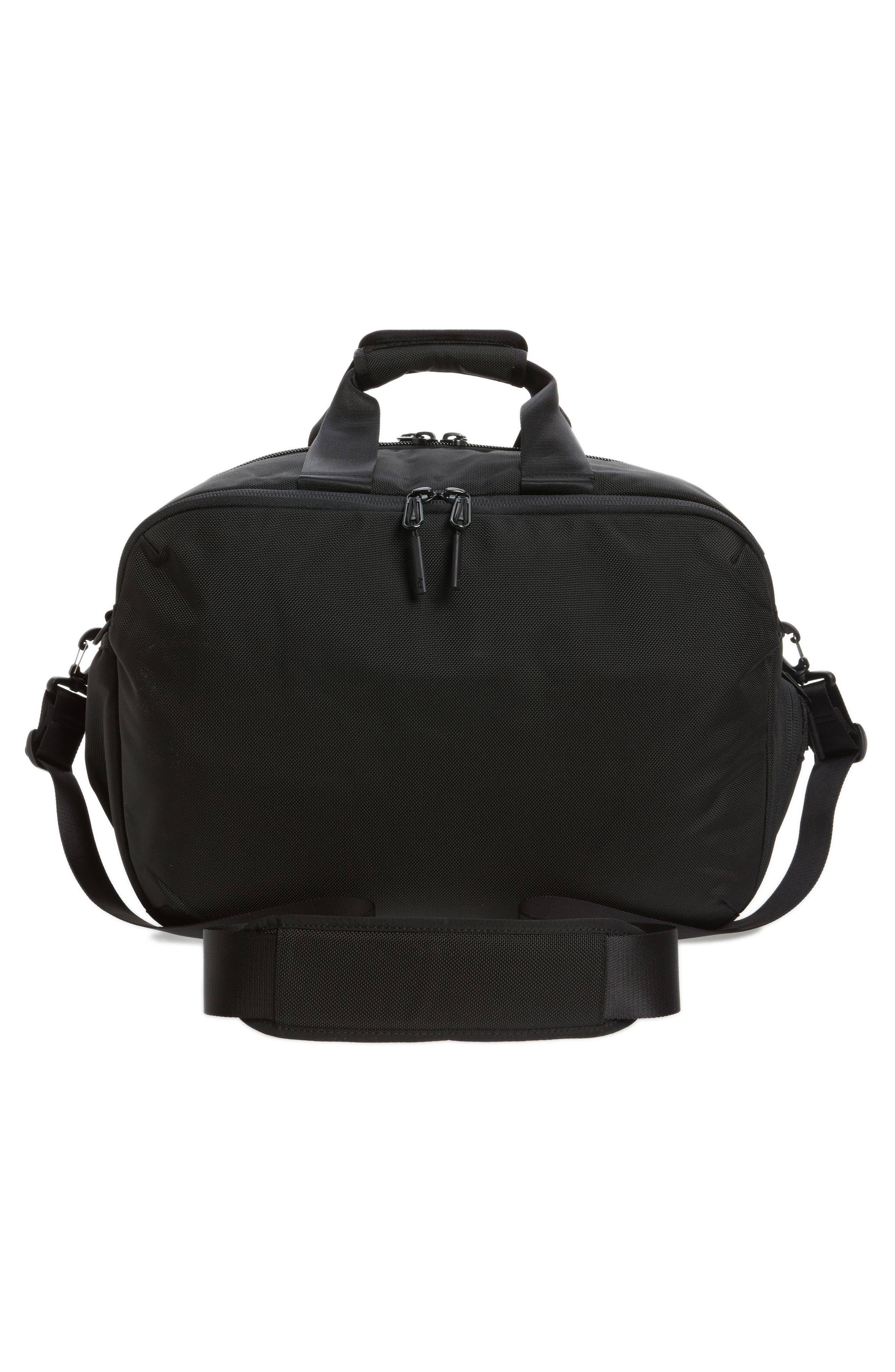 Gym Duffel 2 Bag,                             Alternate thumbnail 3, color,                             Black