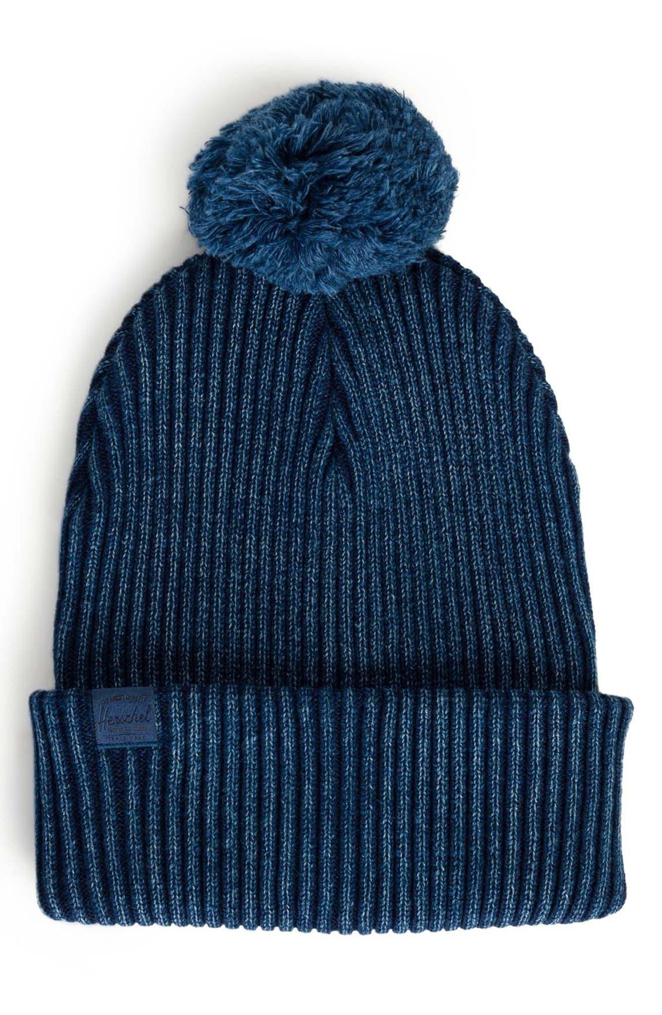 Herschel Supply Co. Sepp Pom Knit Cap