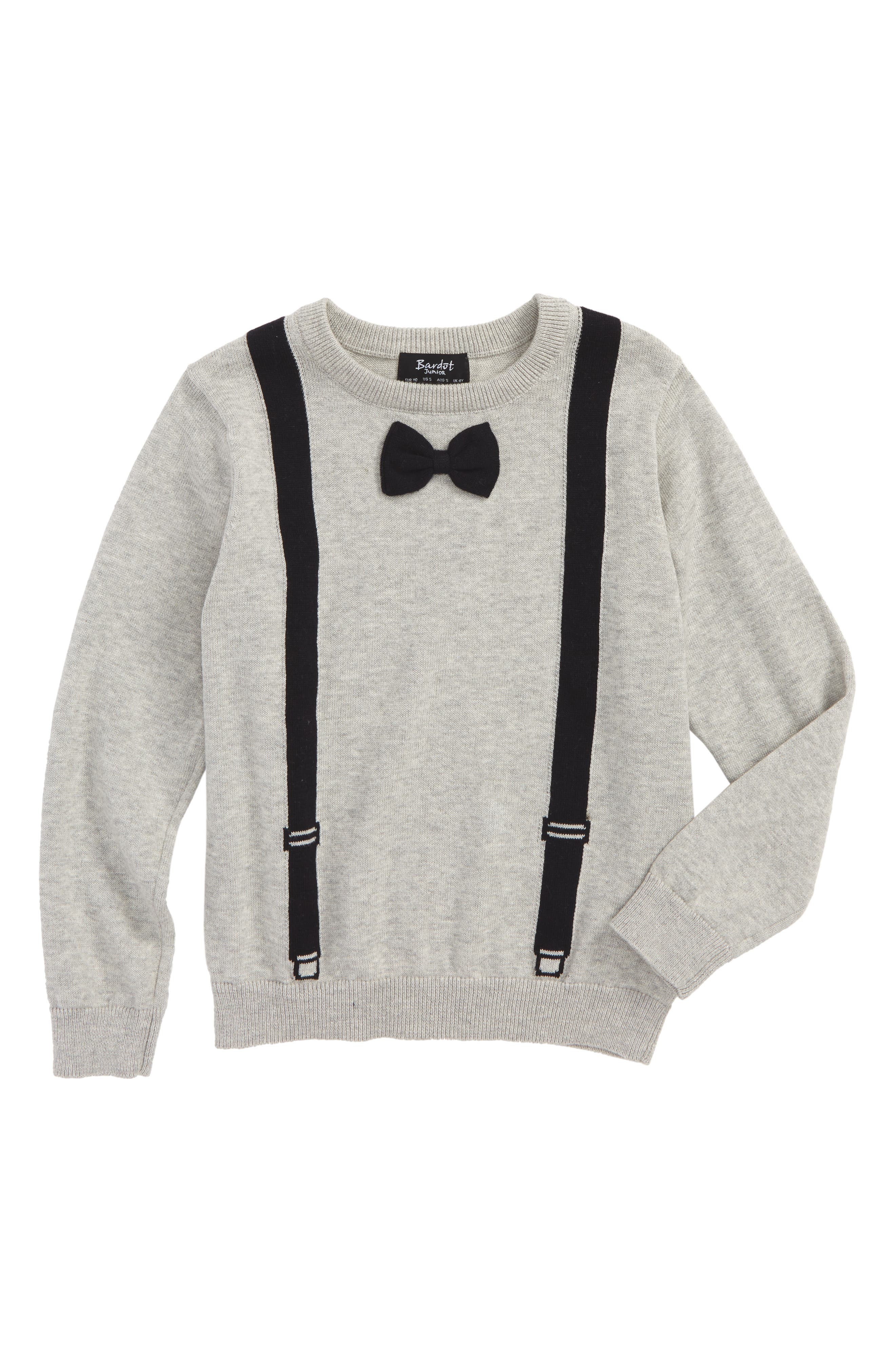 Bardot Junior Trompe l'Oeil Pullover Sweater (Toddler Boys & Little Boys)